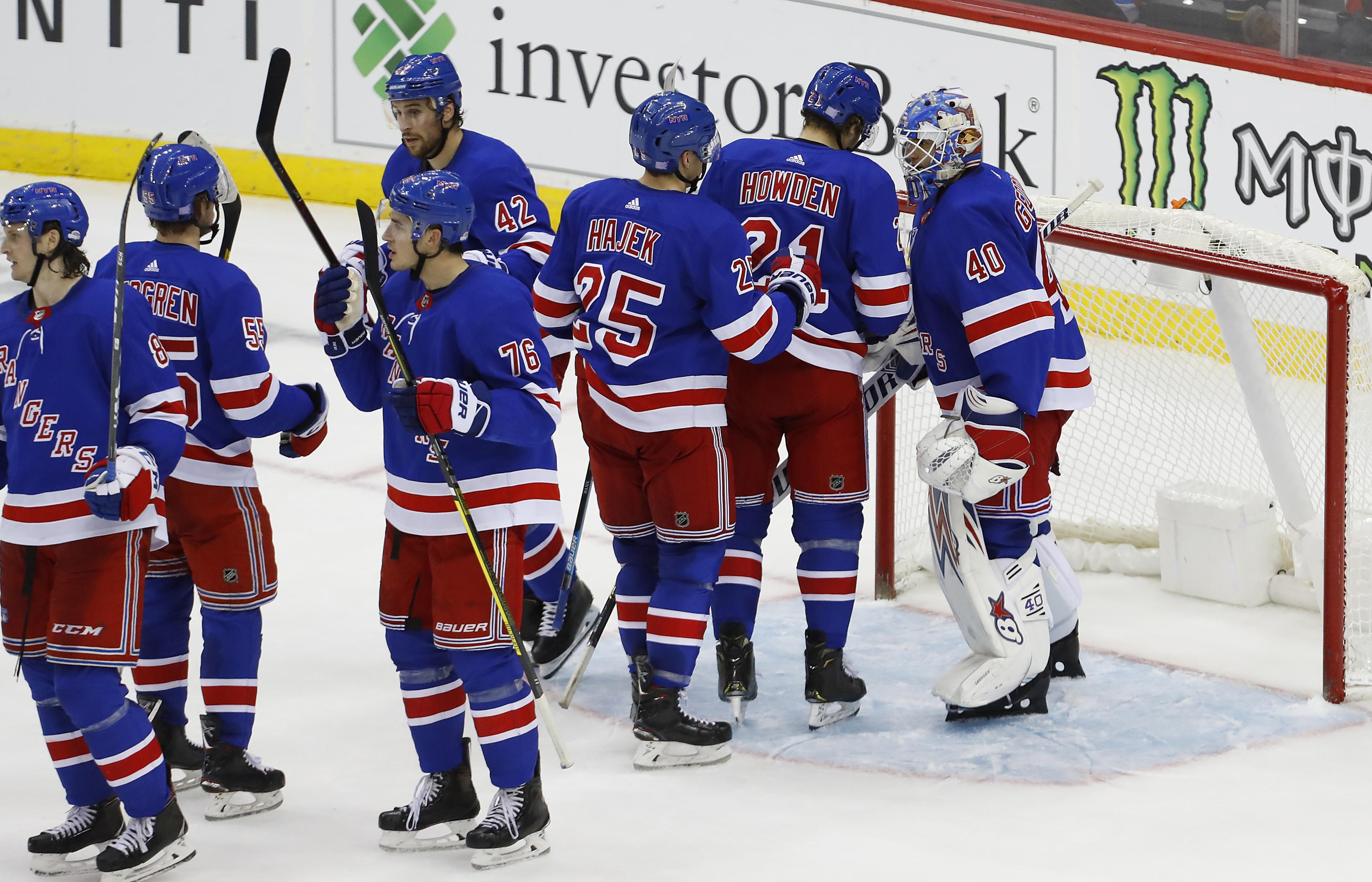 Georgiev makes 33 saves, Rangers shut out Devils 4-0