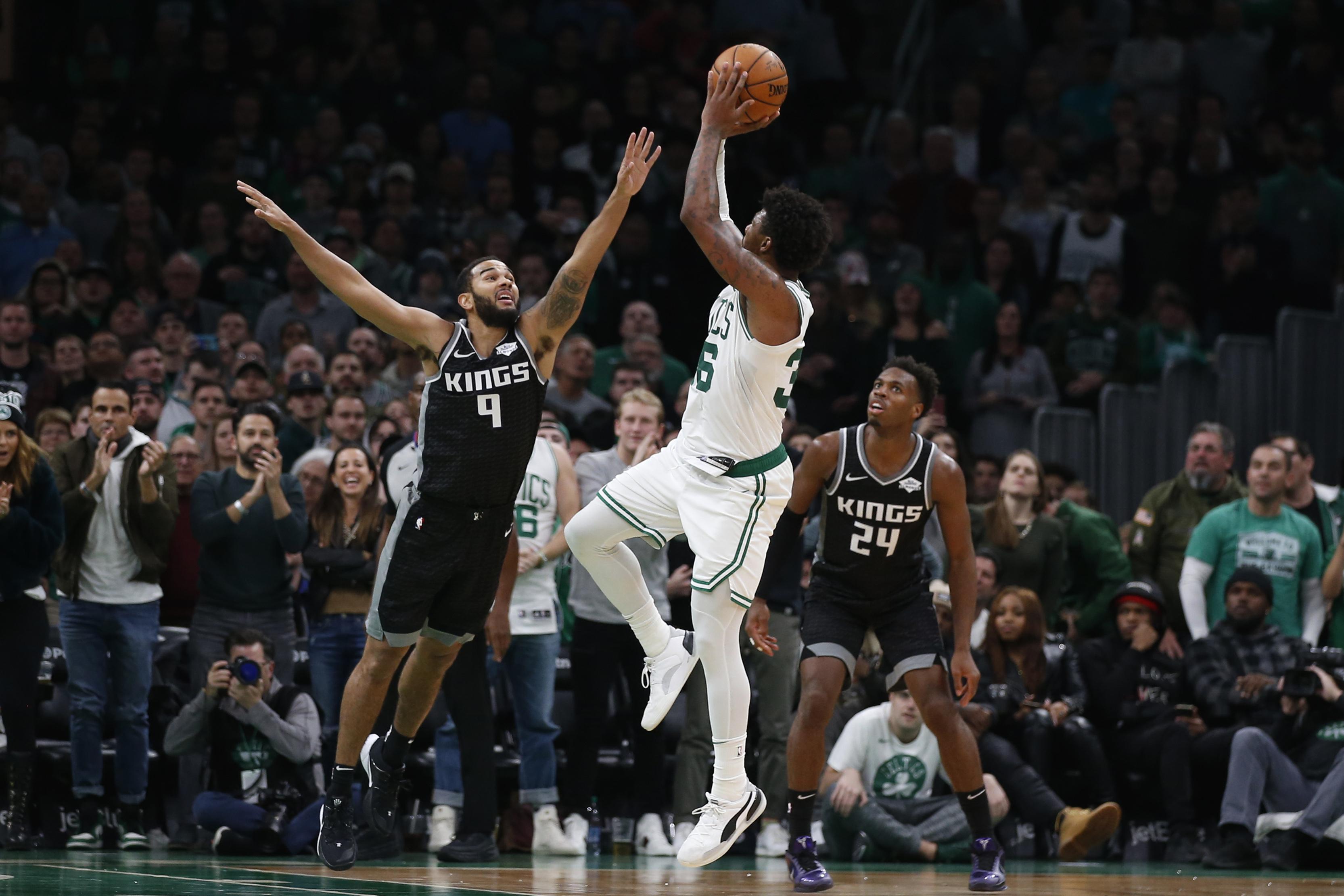 Celtics hold off Kings 103-102 despite Hield's 41 points