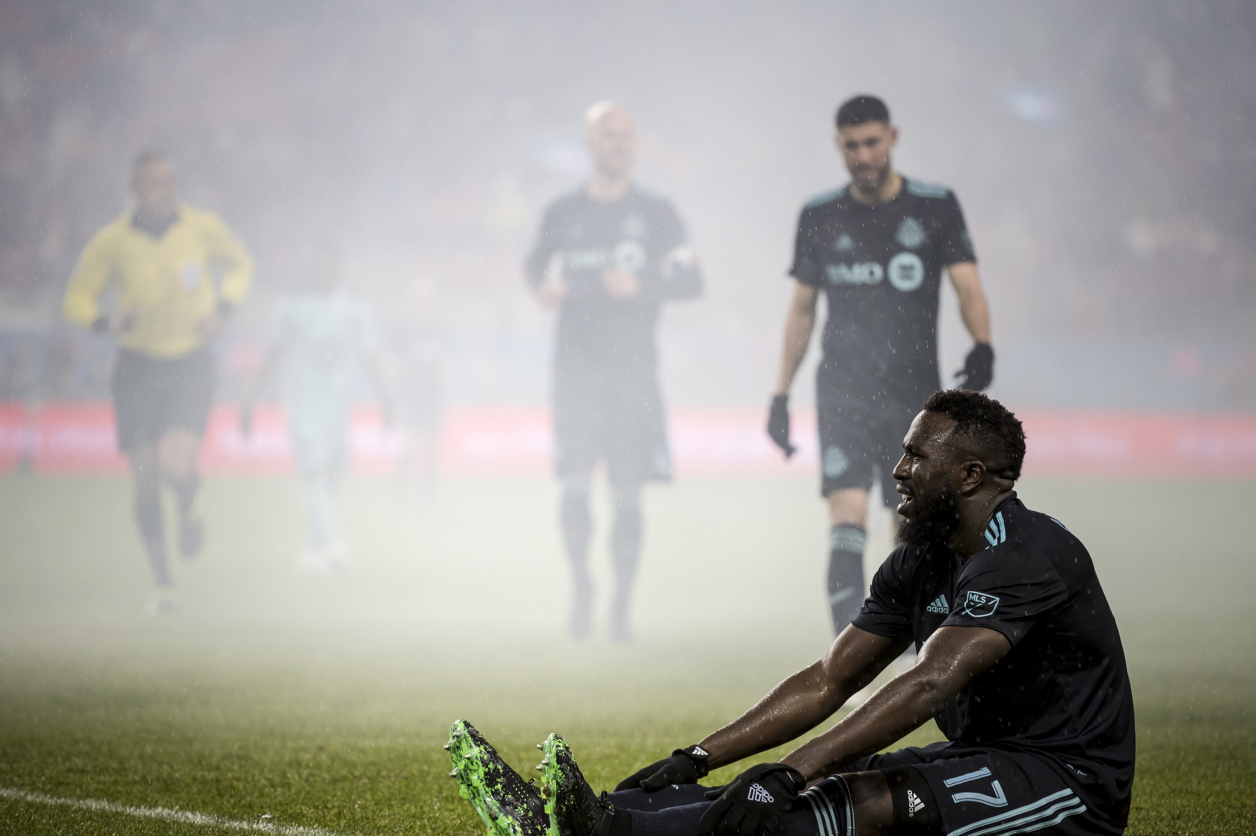 US forward Altidore sidelined with hamstring injury
