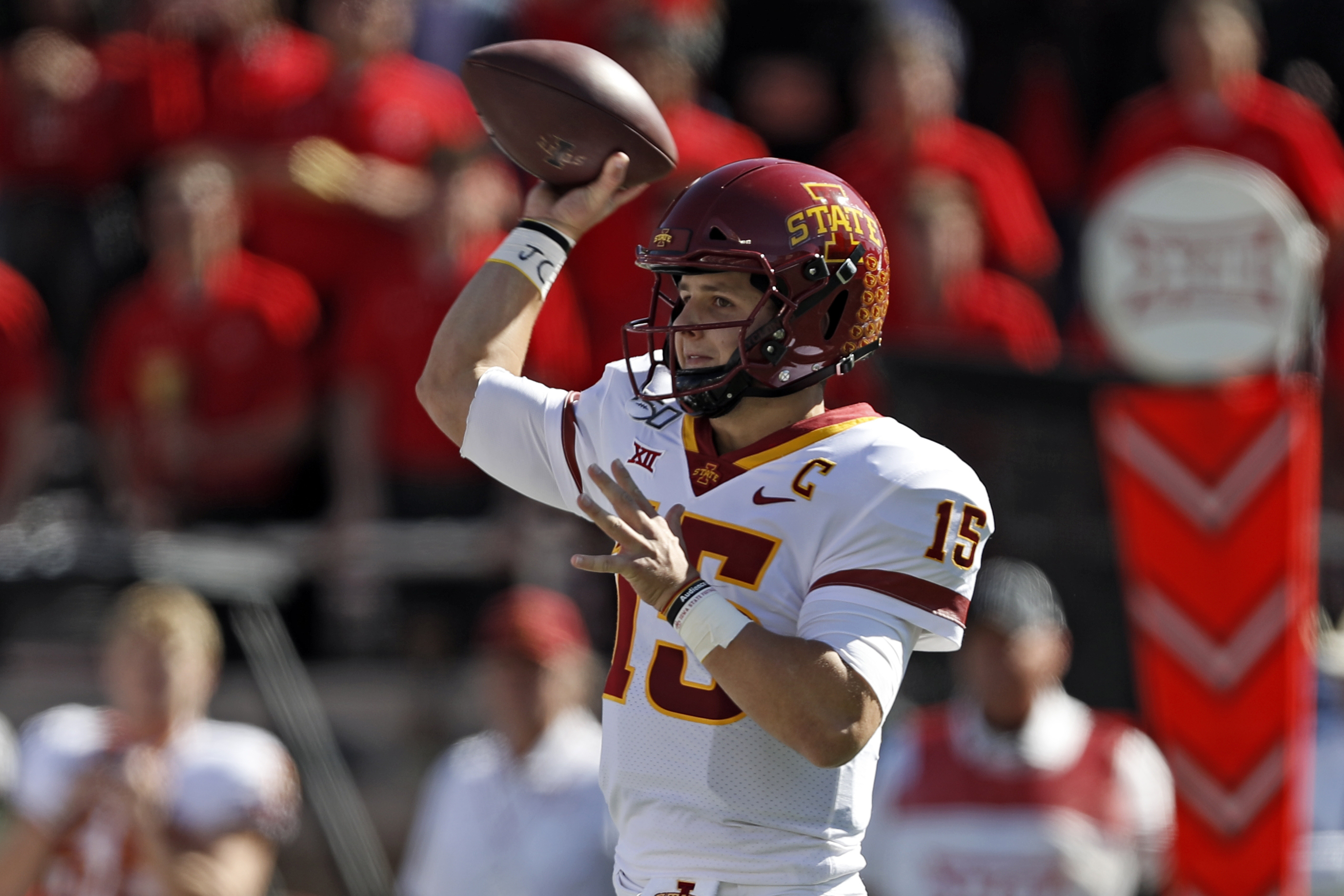 Oklahoma St faces tough challenge Cyclones QB Brock Purdy