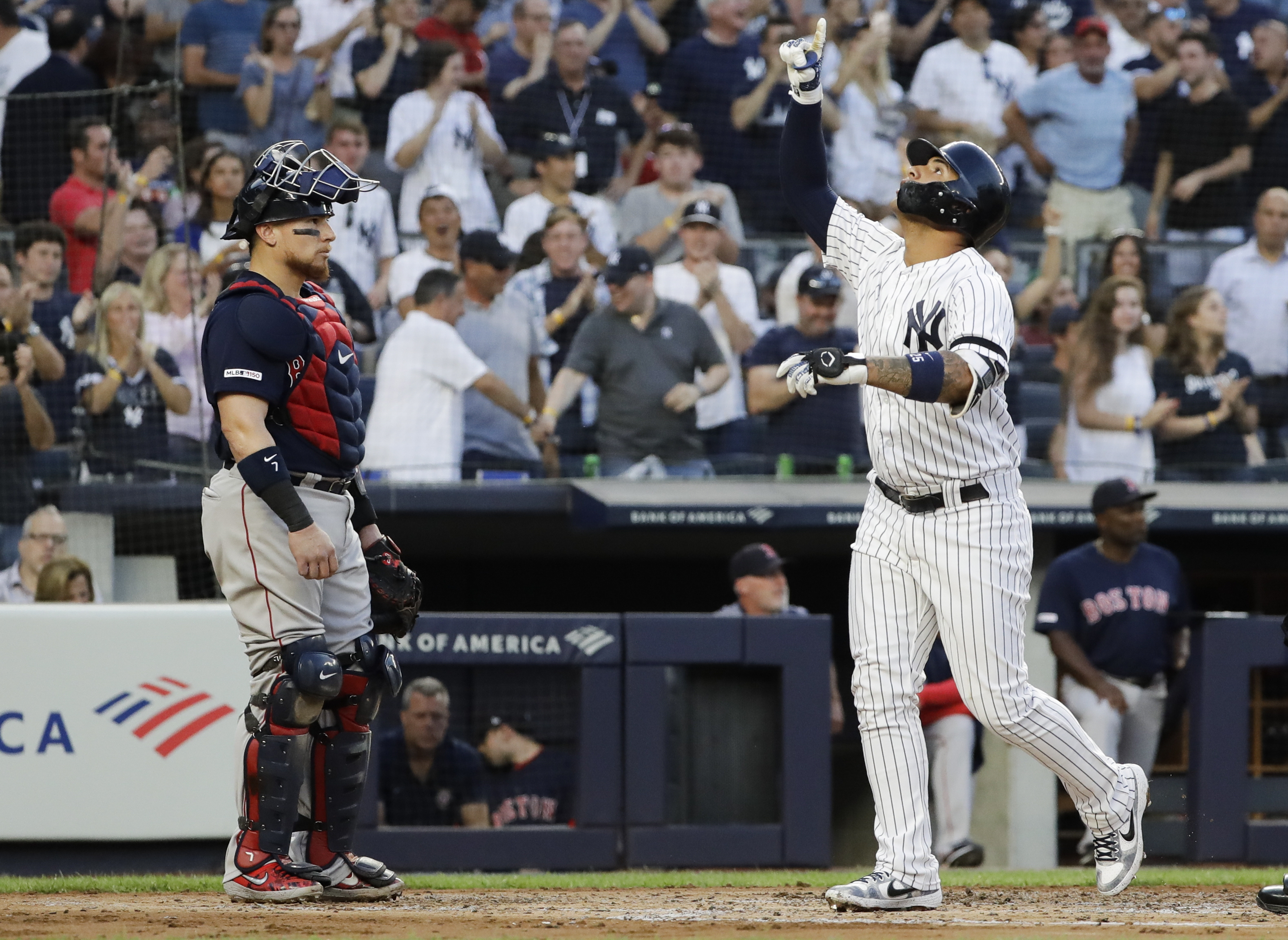 Torres hits slam, Yankees 3-hit skidding Red Sox 4-2