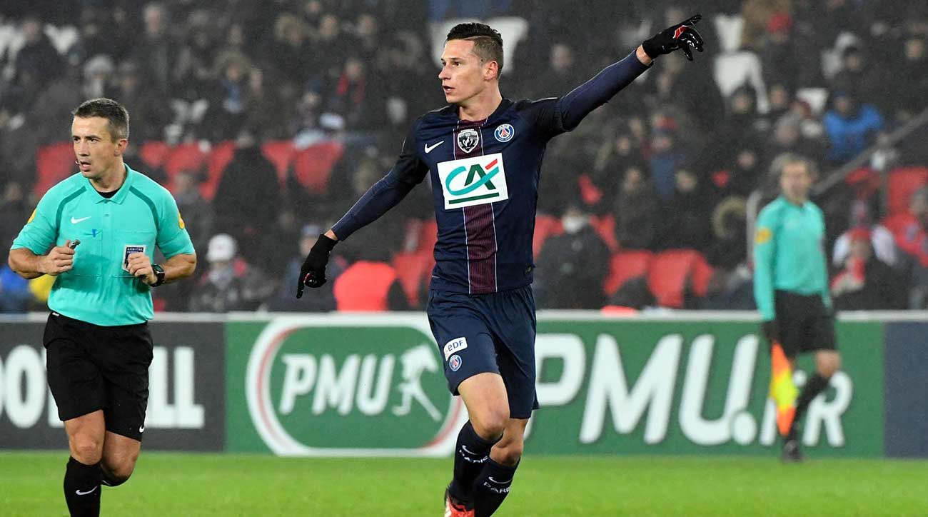 Coupe de France: Draxler marks PSG debut with a goal in 7-0 win