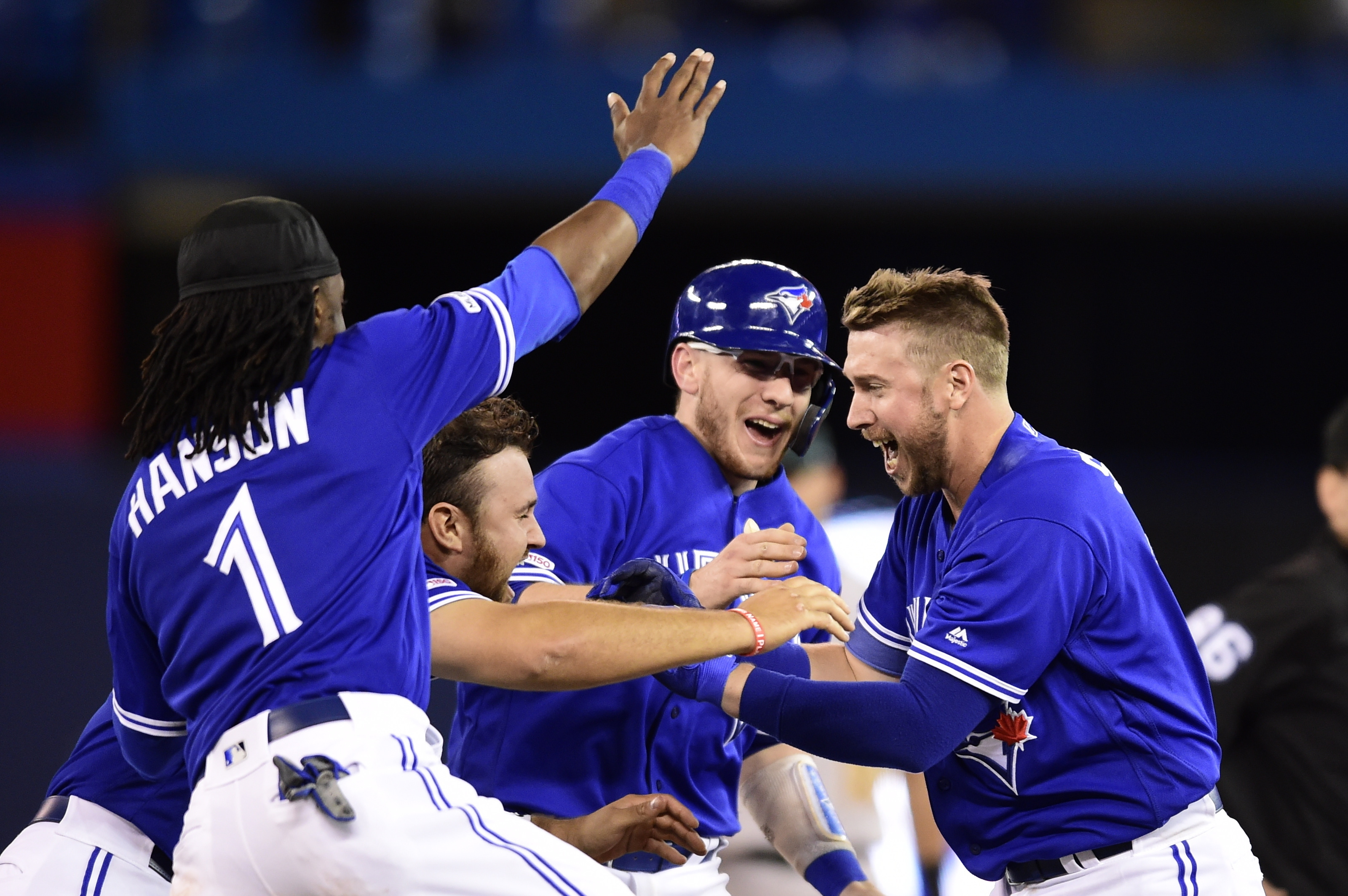 Drury's 3-run HR in 11th sparks Jays to season sweep of A's