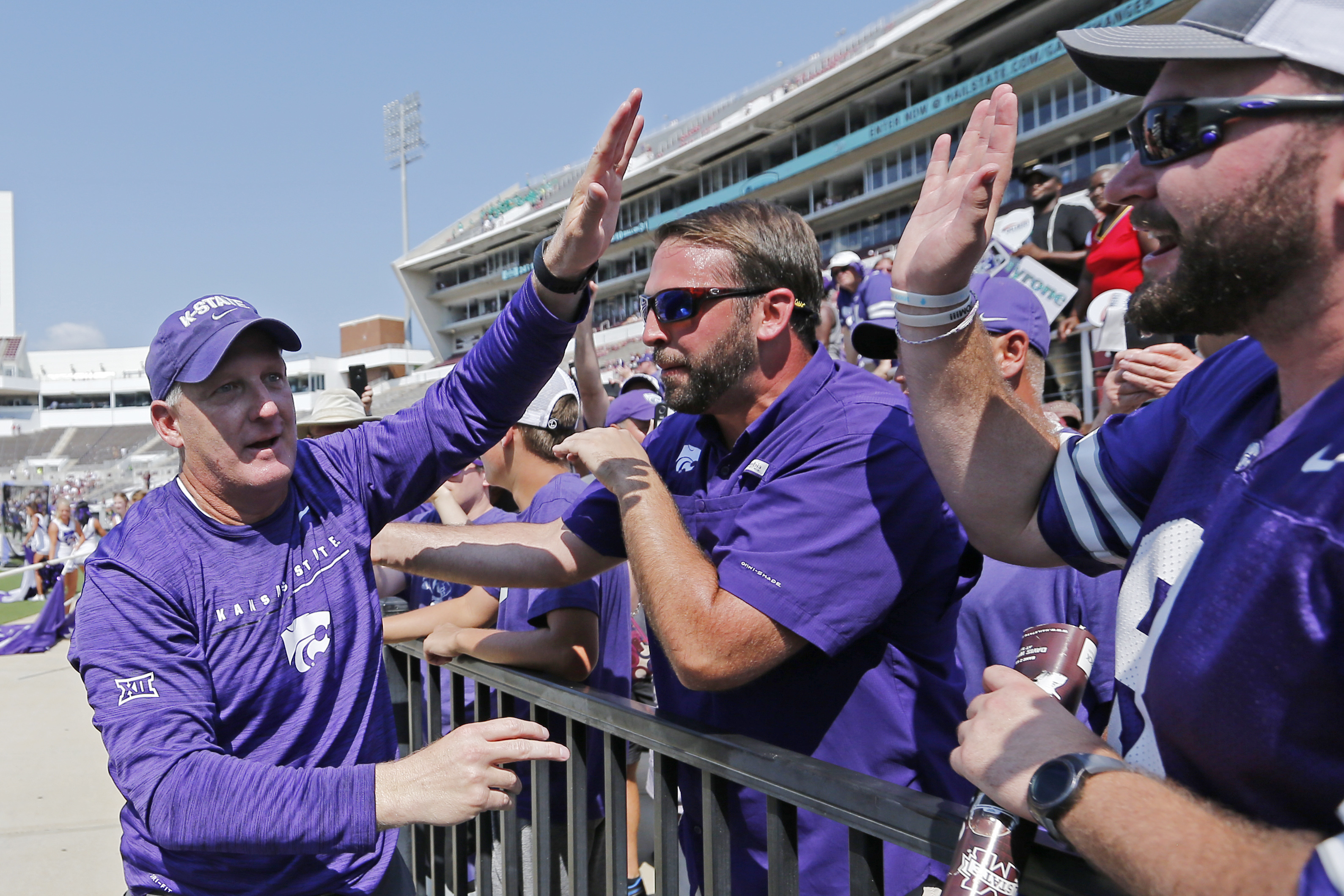 No. 24 K-State into Big 12 opener undefeated under Klieman