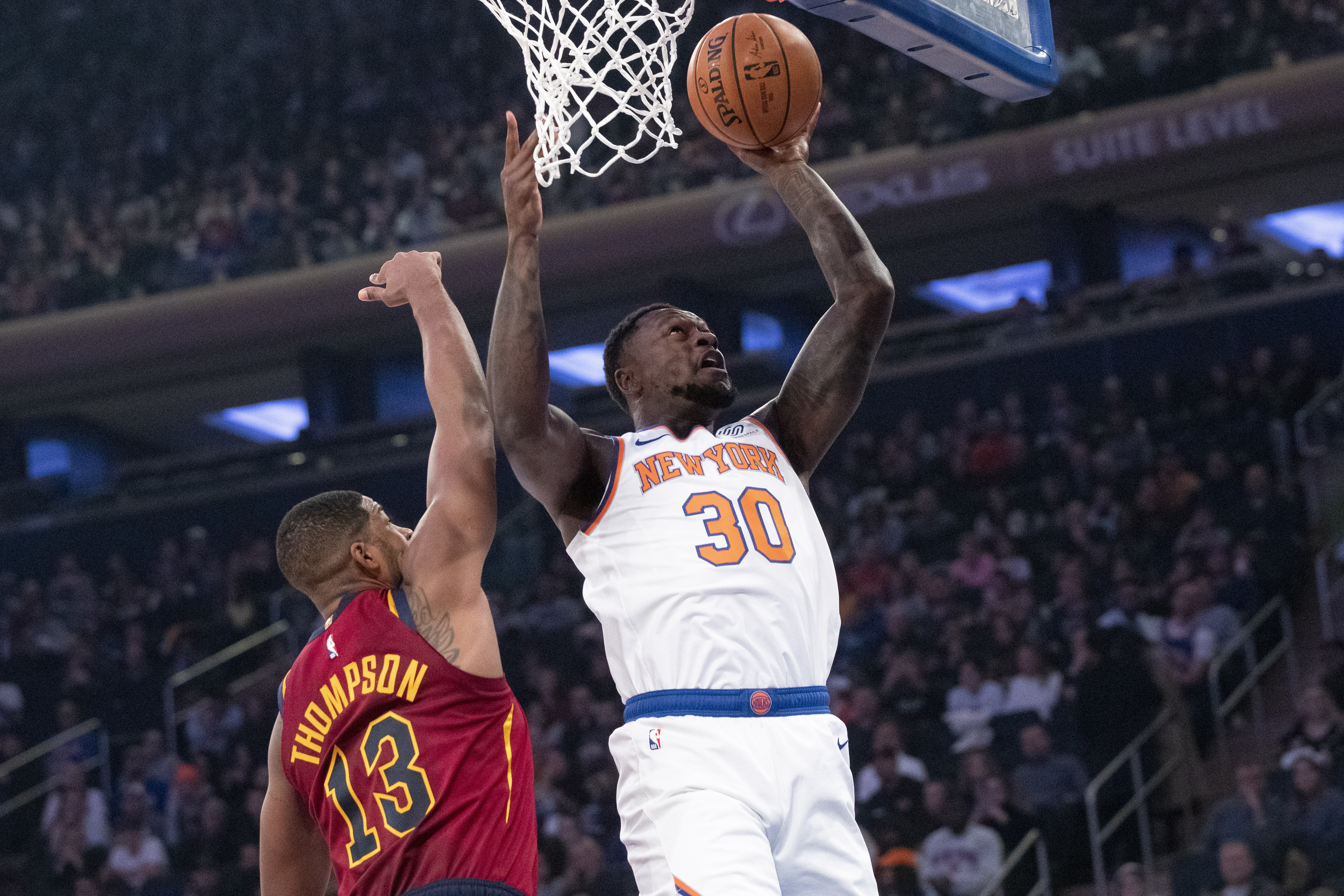 Sexton scores 31, Cavaliers beat Knicks 108-87