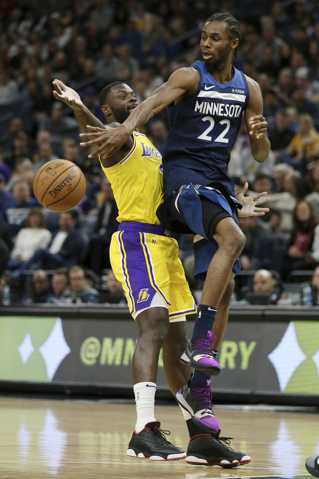 Wiggins, Towns lead Timberwolves past Lakers, 108-86