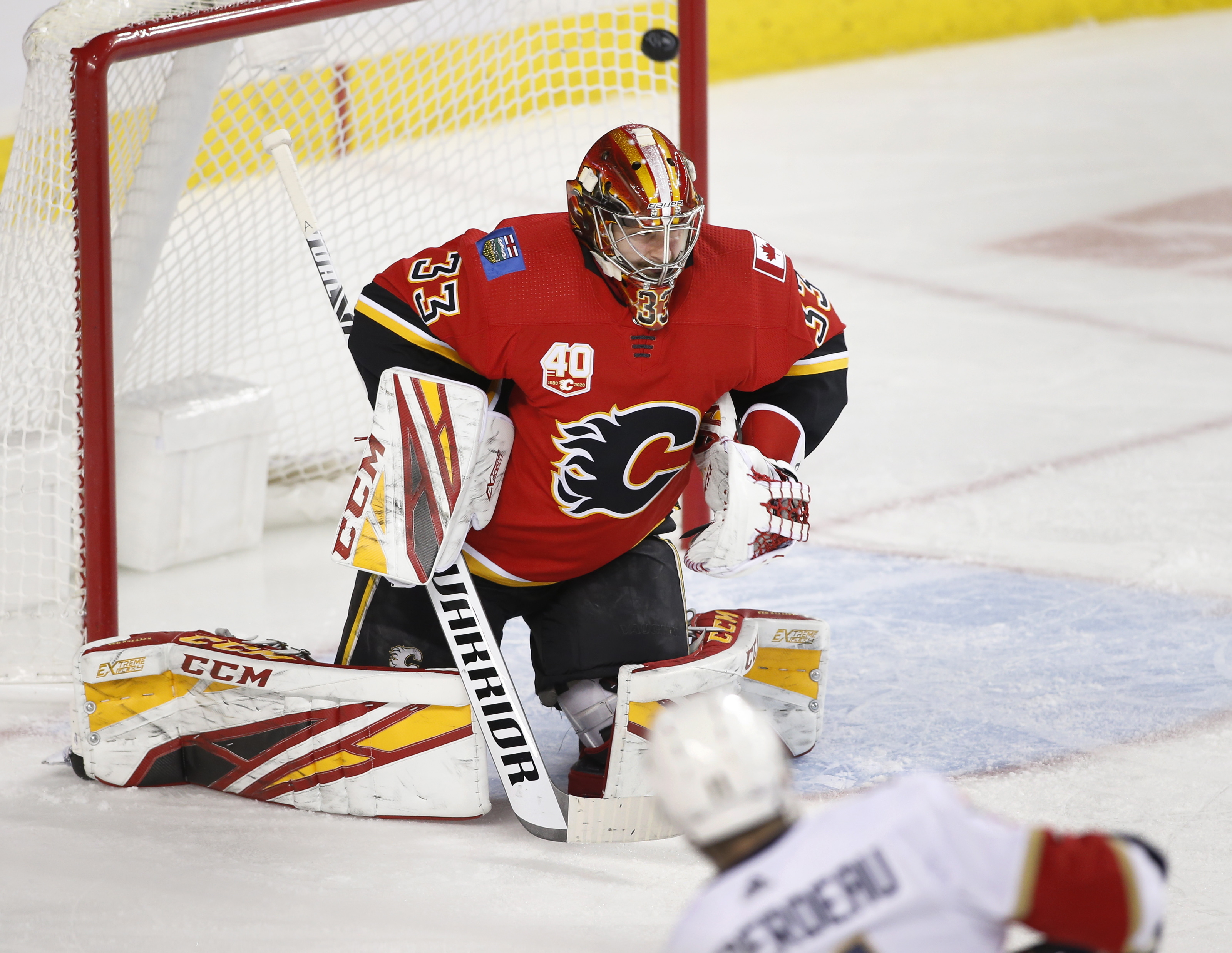 Matthew Tkachuk leads Flames past Panthers 6-5 in shootout