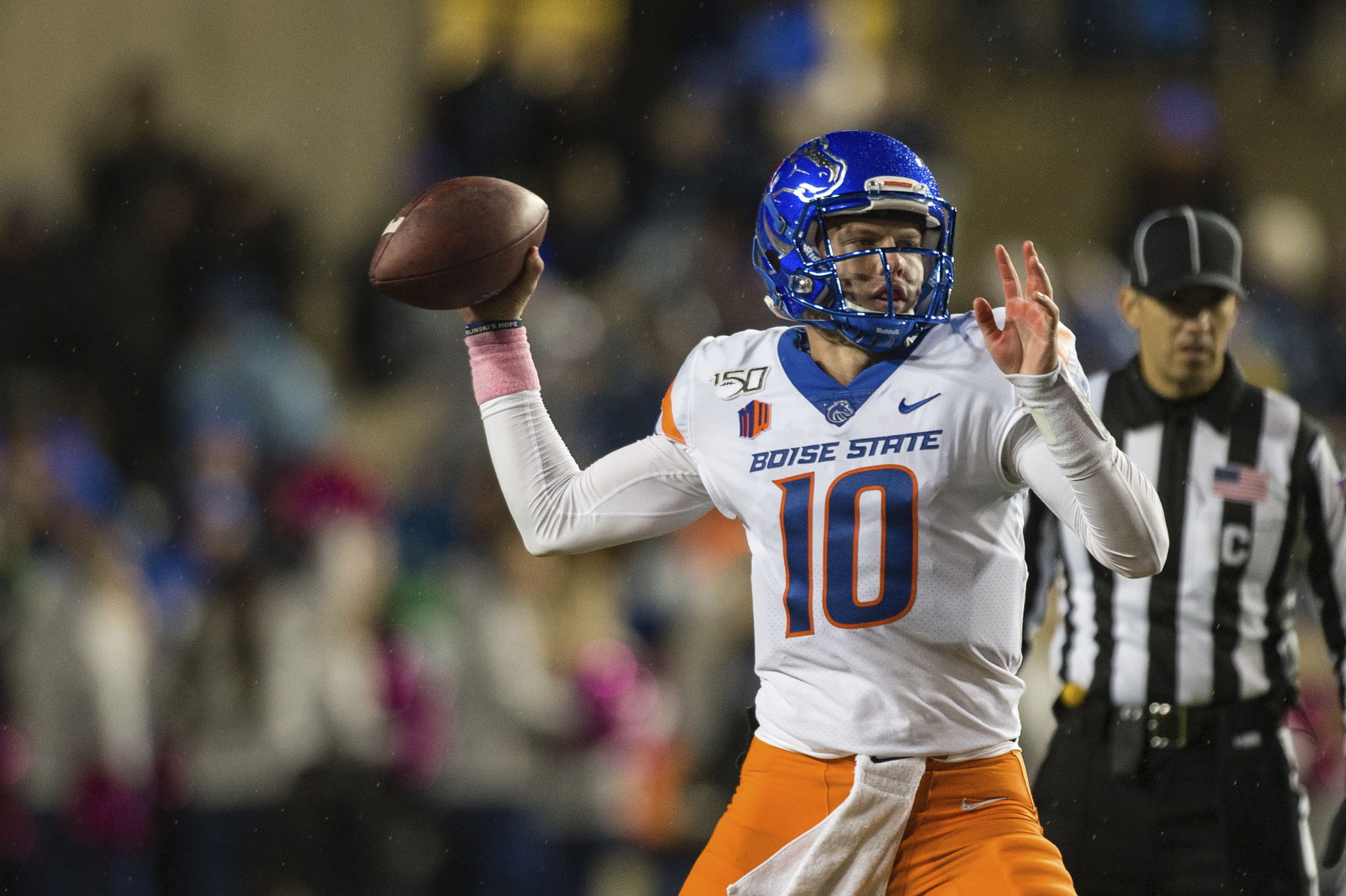 No. 21 Boise State looks to bounce back vs San Jose State