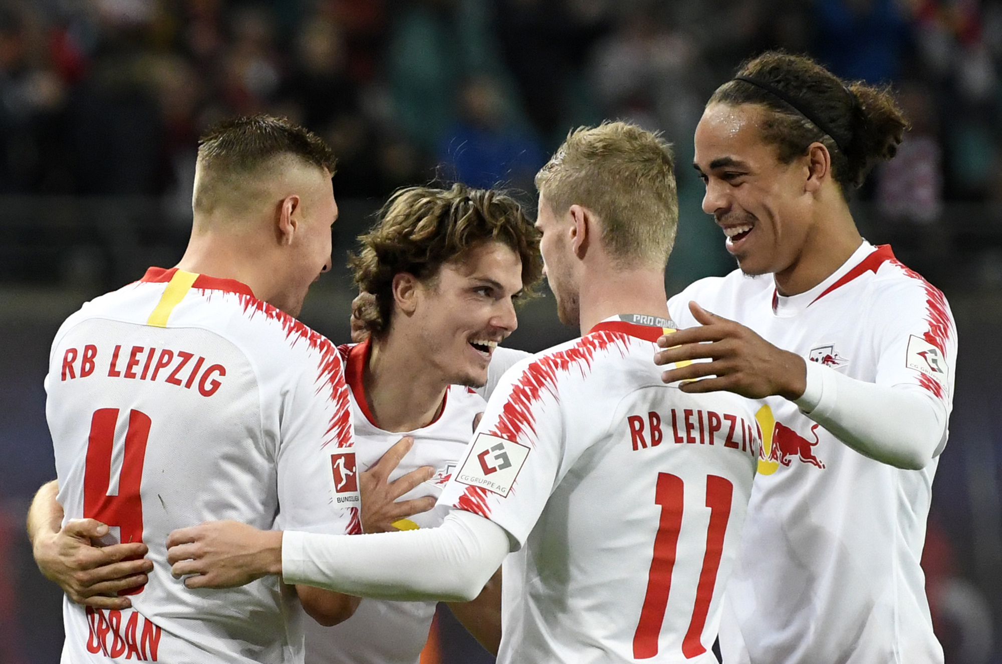 Leipzig routs promoted Nuremberg 6-0 despite missed penalty