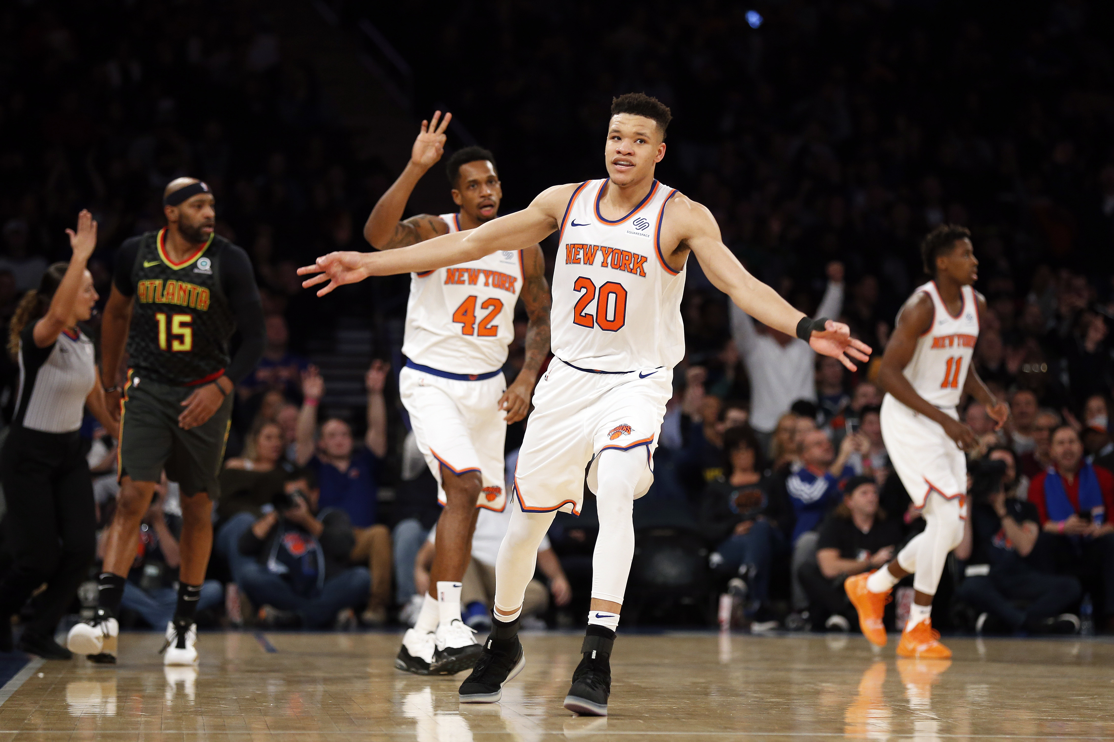 In rookie Kevin Knox, Knicks see their Christmas future