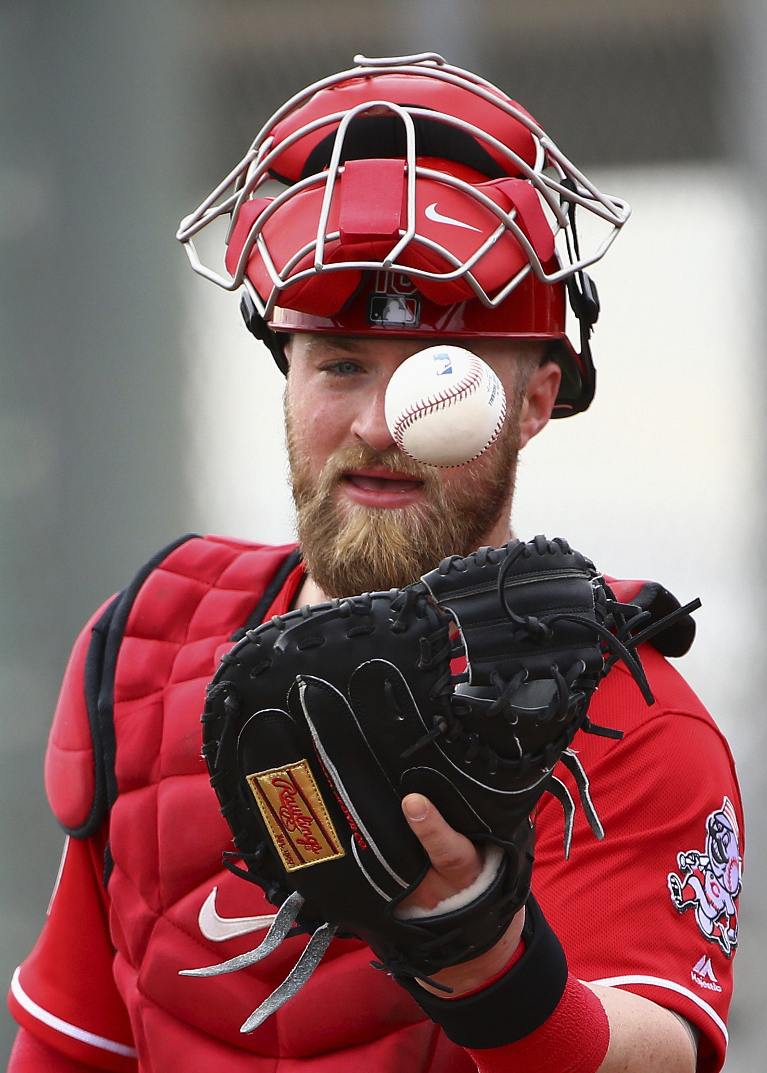 Catcher Tucker Barnhart glad Reds didn't pull off trade
