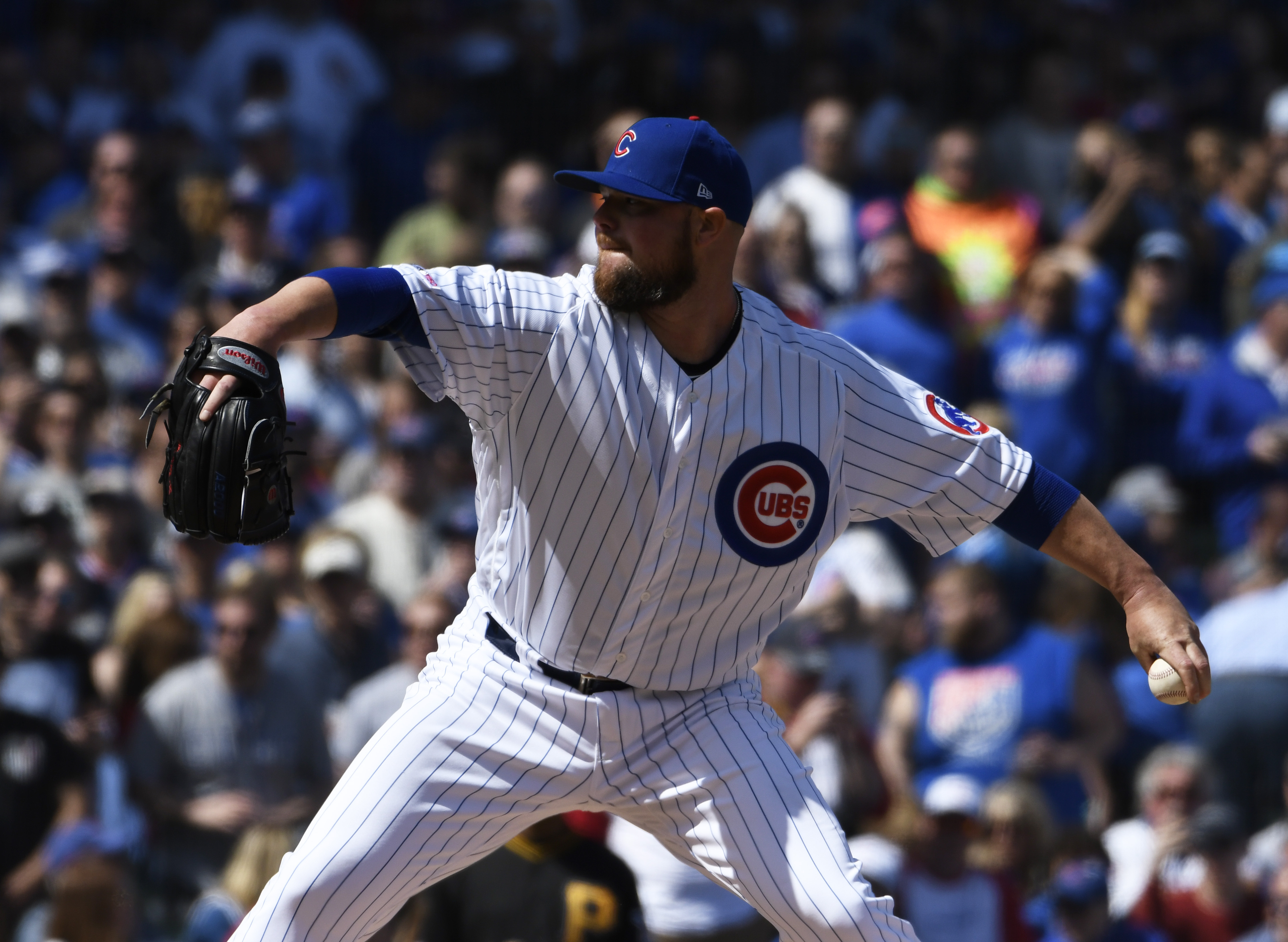 Maddon says Lester likely to miss 1-2 starts for Cubs
