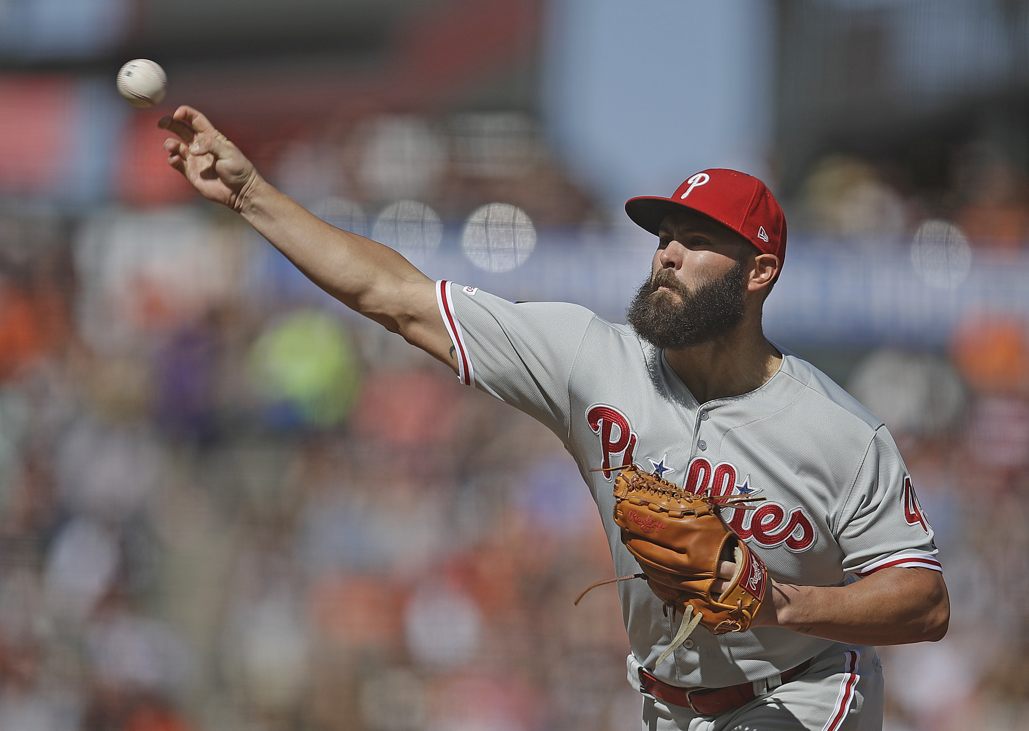 Jake Arrieta unlikely to pitch again this season for Phils