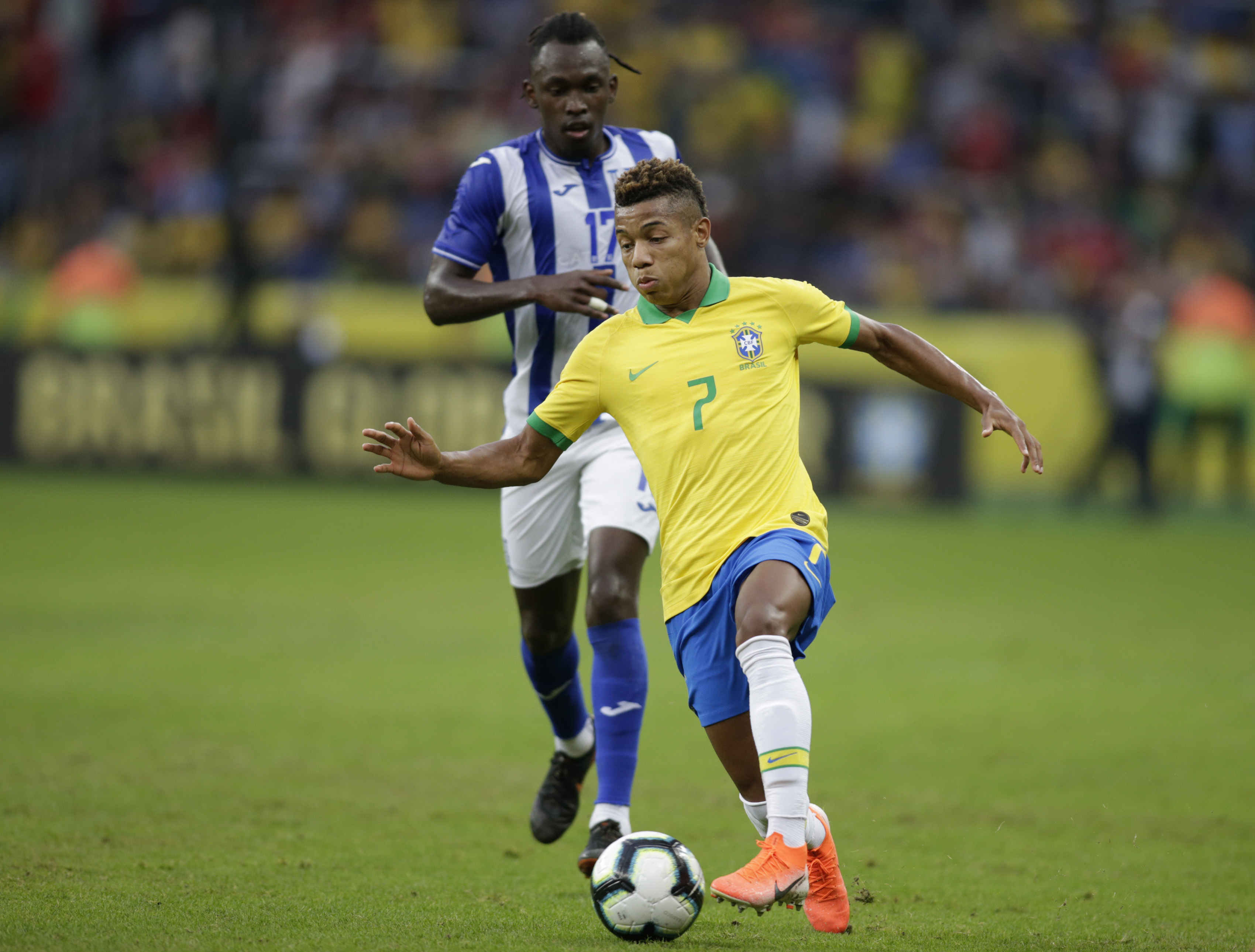 Neres set to replace Neymar for Brazil at Copa America