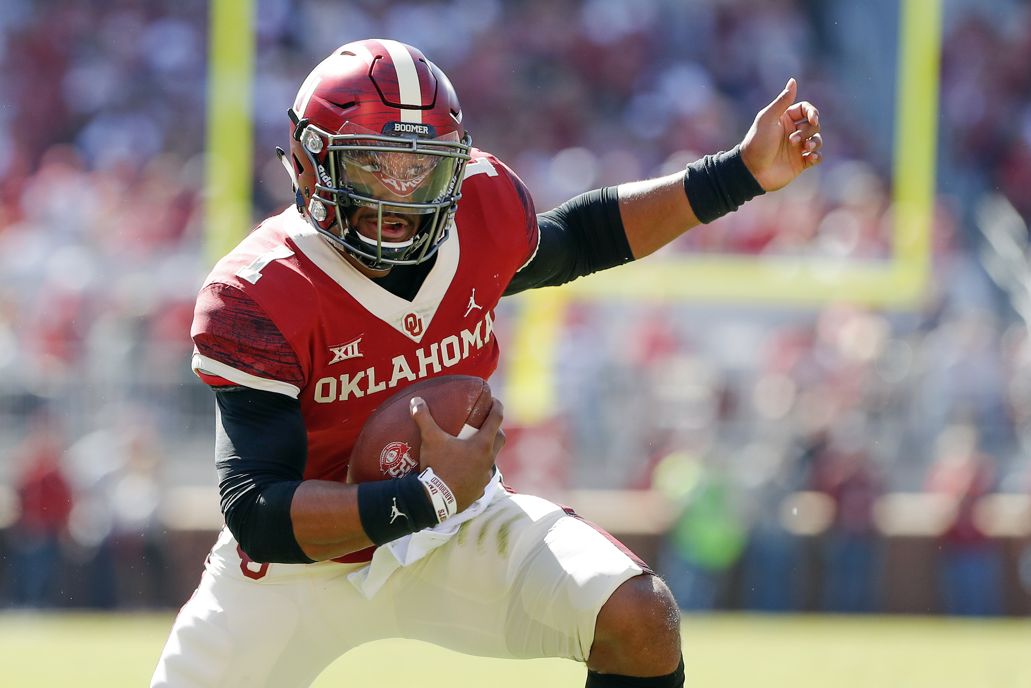 Led by Hurts, dual-threat QBs rule in the Big 12