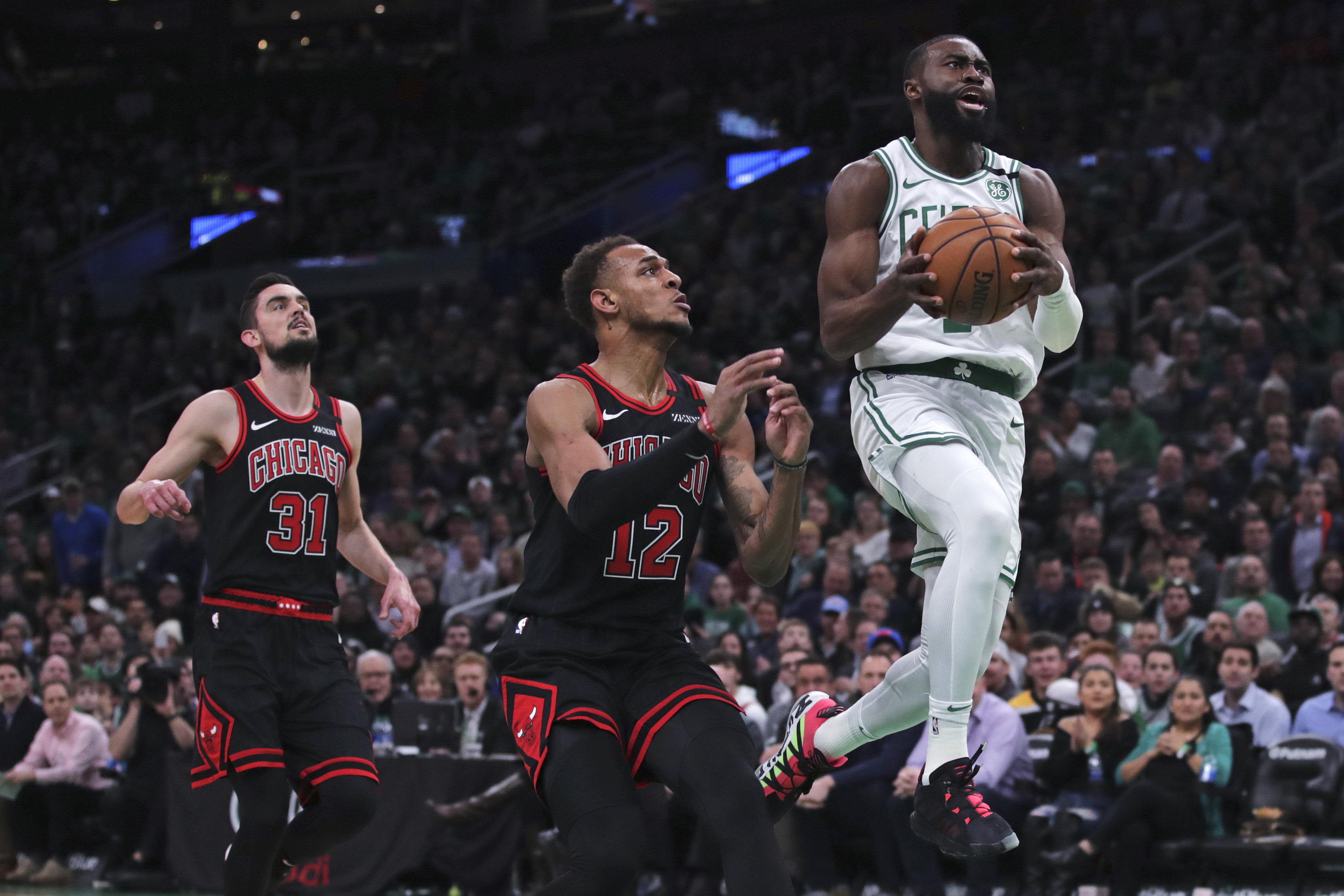 Tatum and Brown lead Celtics to 113-101 win over Bulls