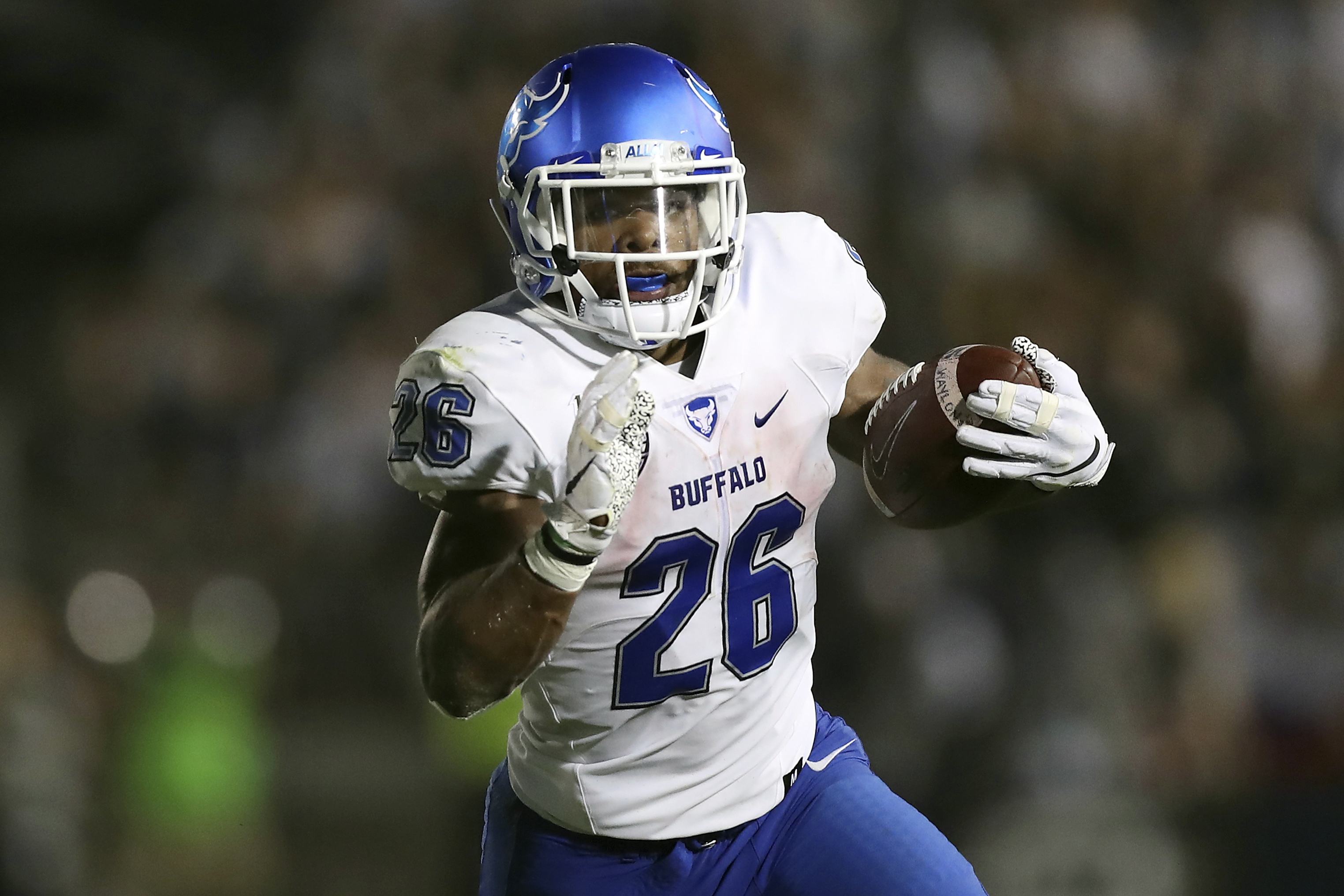 Patterson rushes Buffalo's expectations and Bahamas Bowl