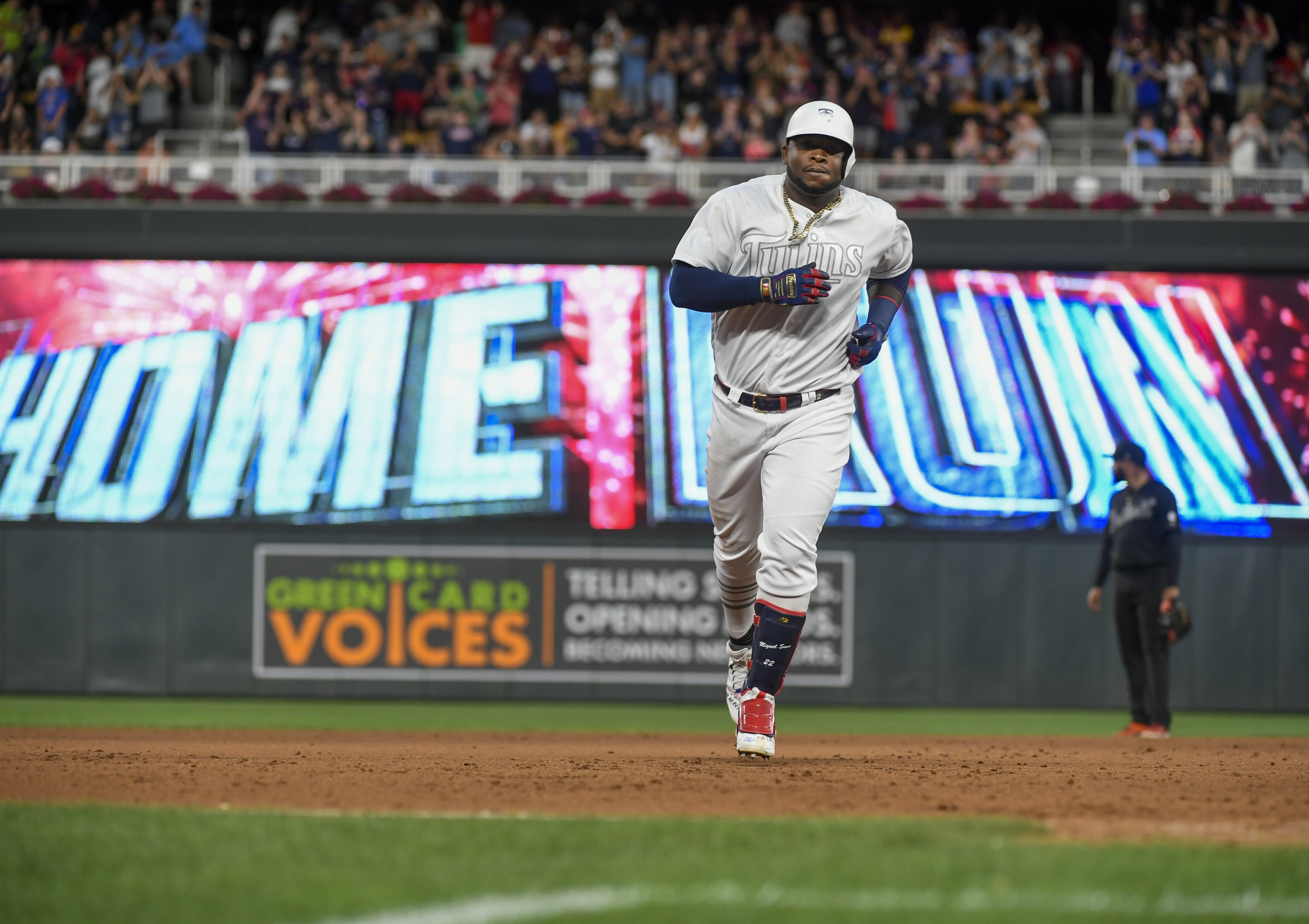 Sano and Cave homer again, Twins overcome Tigers 8-5