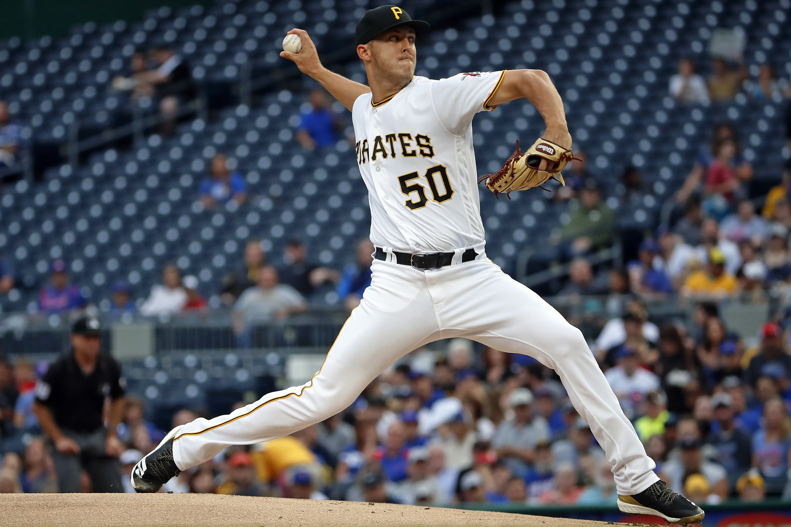 Taillon, Bettis face off after battling cancer