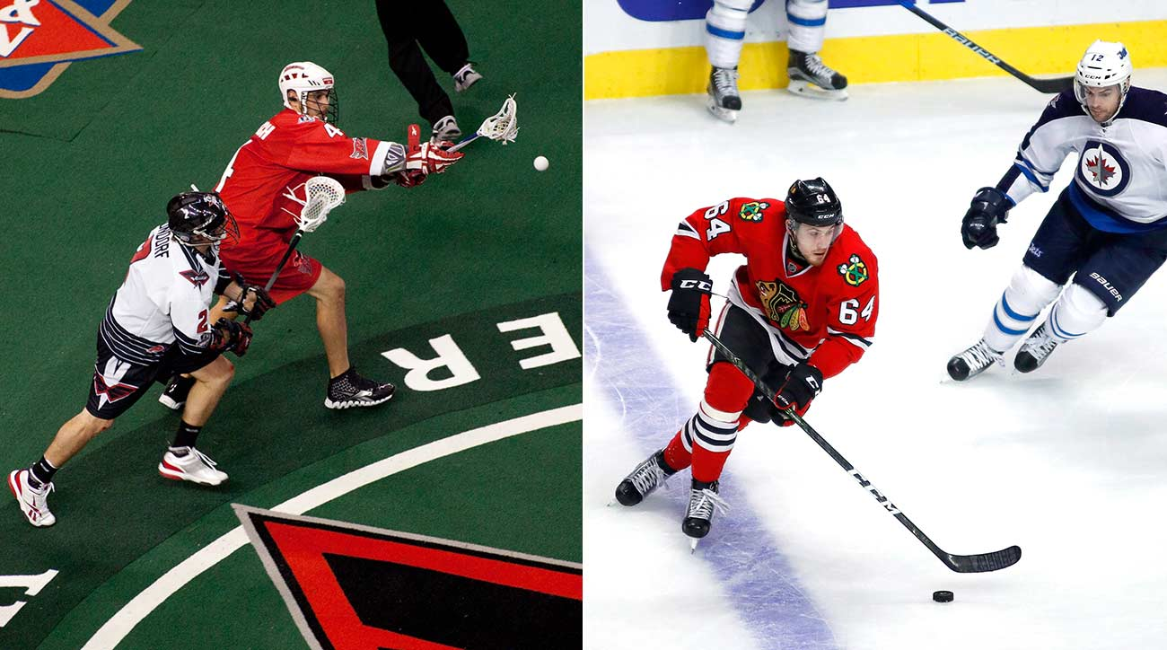 For some NHL players, lacrosse provides training for life on ice