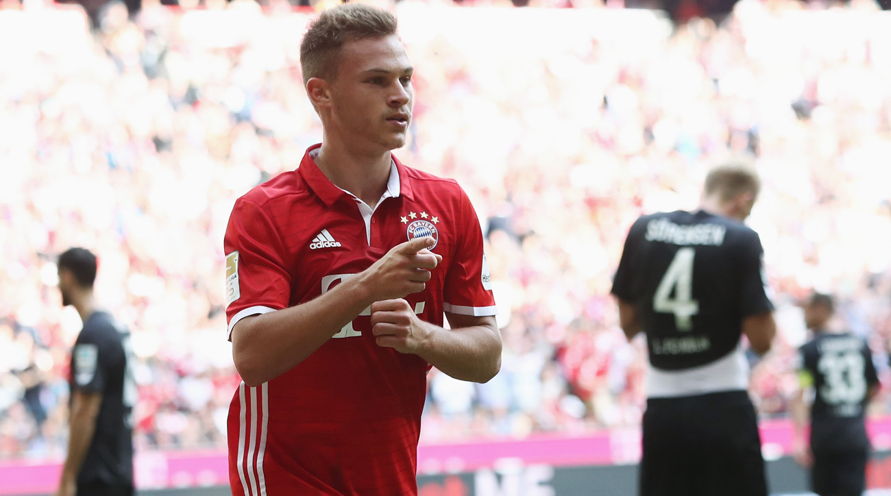 Bayern Munich's Joshua Kimmich: On his versatility, admiring Xavi, Lahm and more