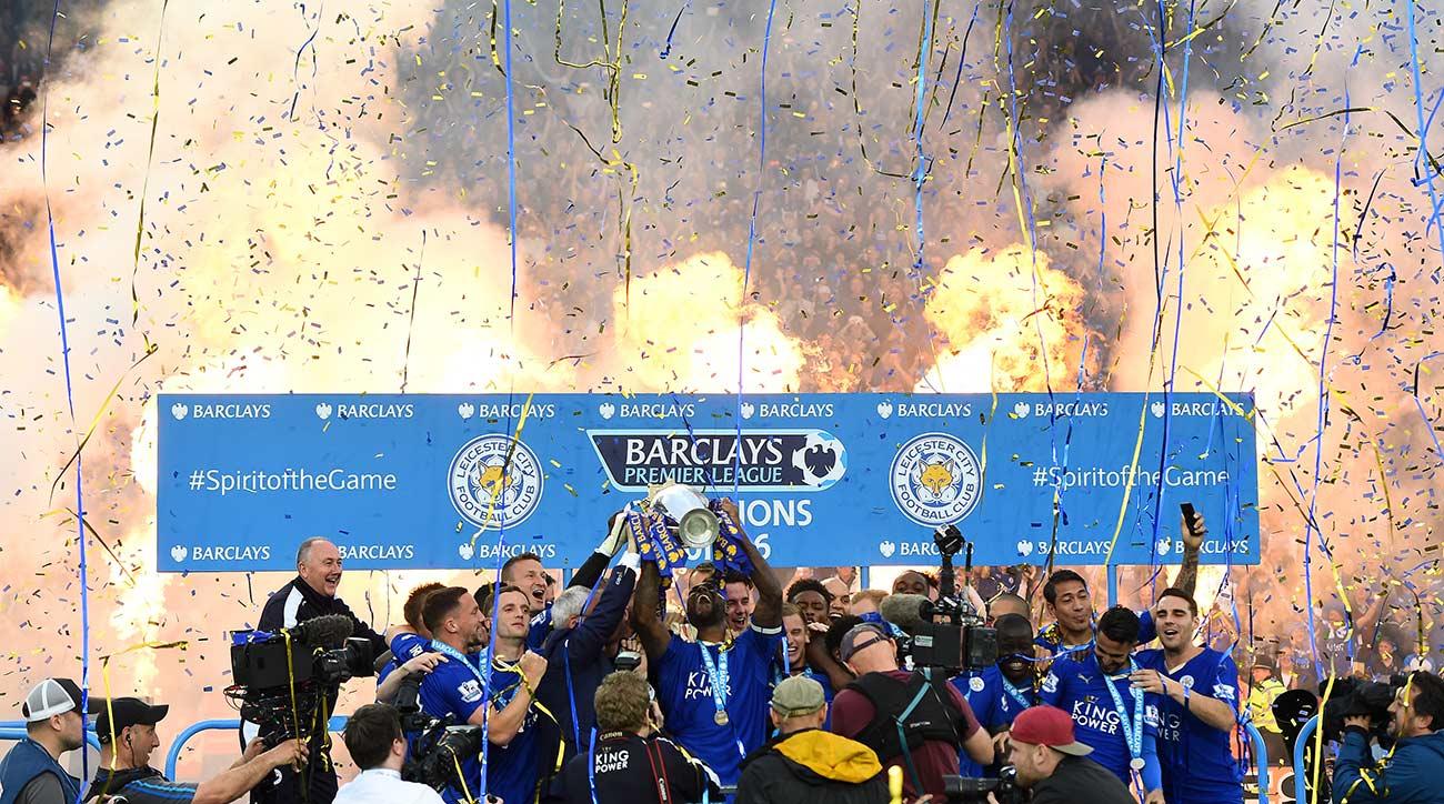 1. Leicester City defies the odds, wins unprecedented Premier League title