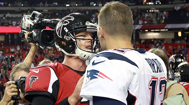 Two For Super Bowl 51: Patriots and Falcons