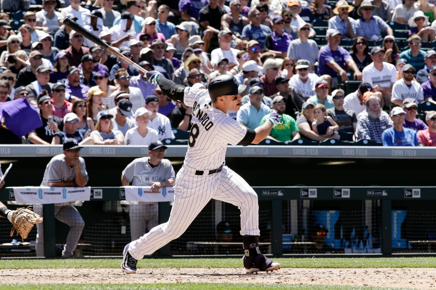Colorado Rockies Nolan Arenado Played Street Baseball on New Year's Eve