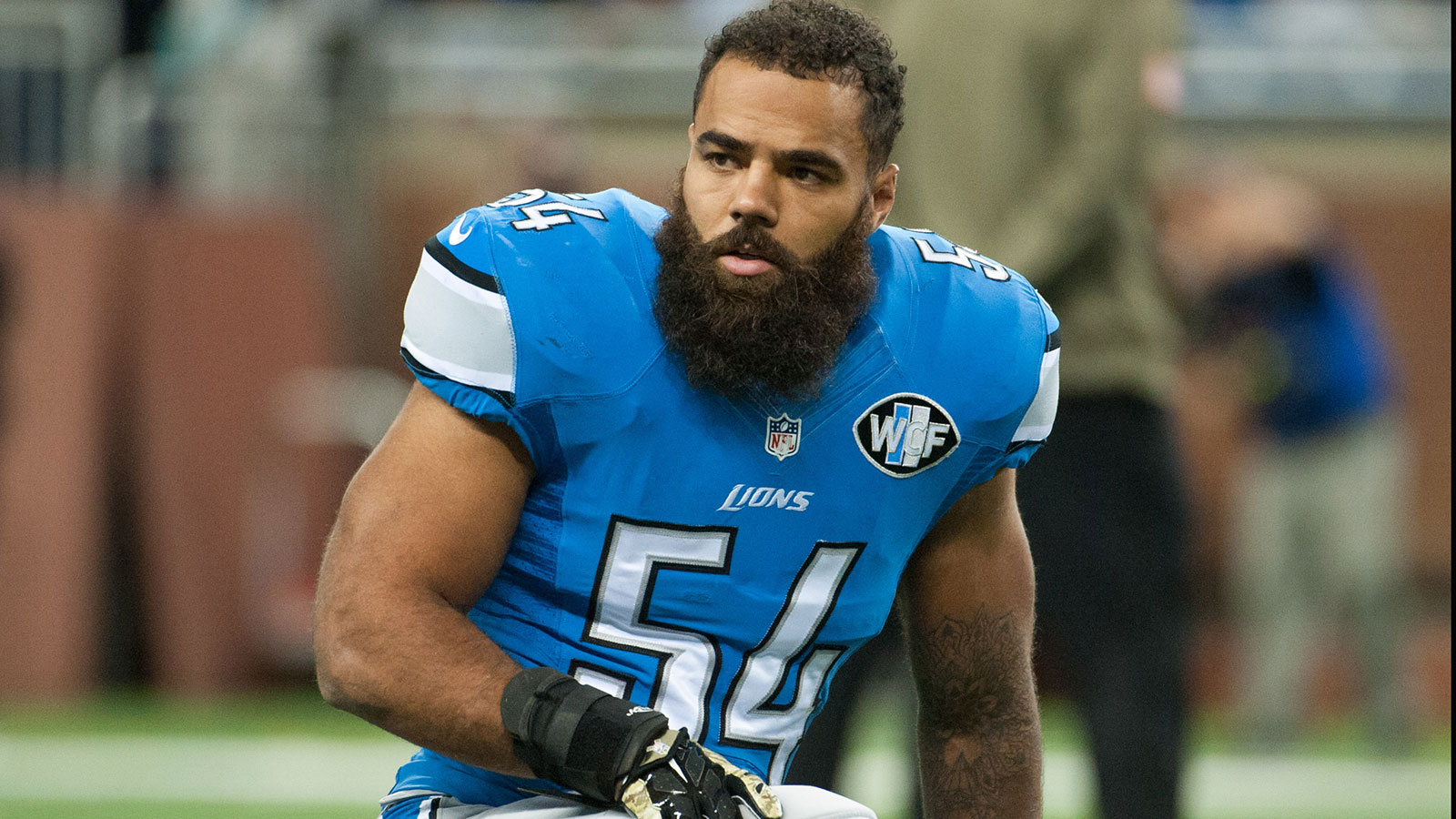 Lions LB Levy needs hip surgery, putting season in doubt