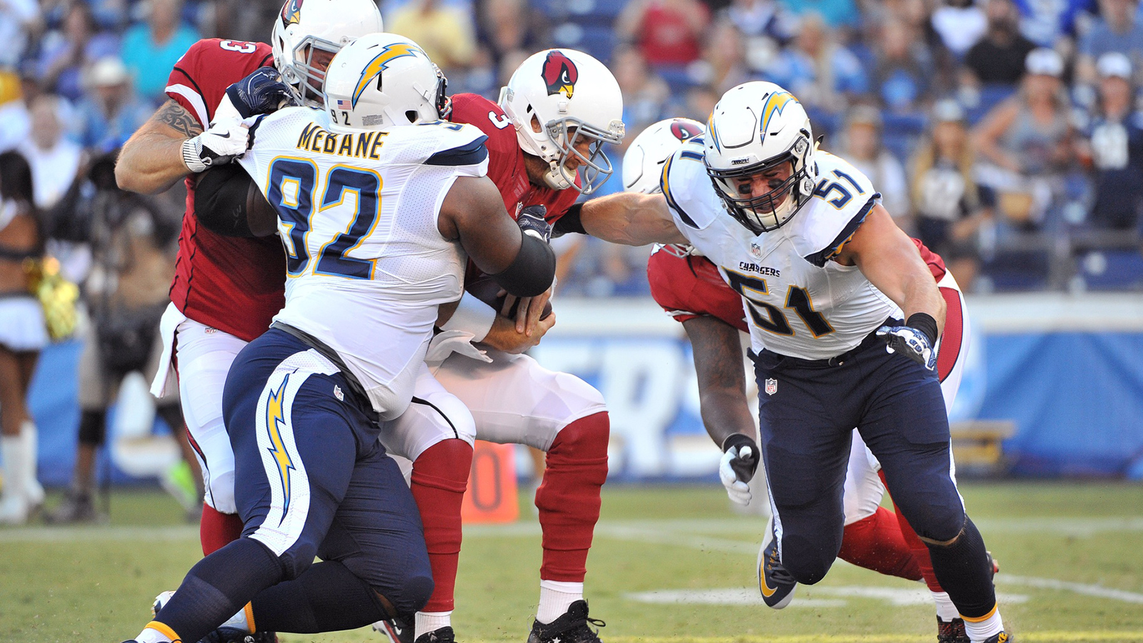 Cardinals offense struggles in preseason loss to Chargers