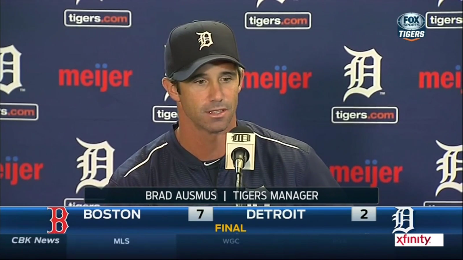Tigers Postgame 8.7.15: Brad Ausmus (VIDEO)