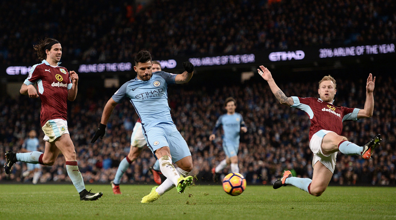 Manchester City overcomes another Fernandinho red card to beat Burnley