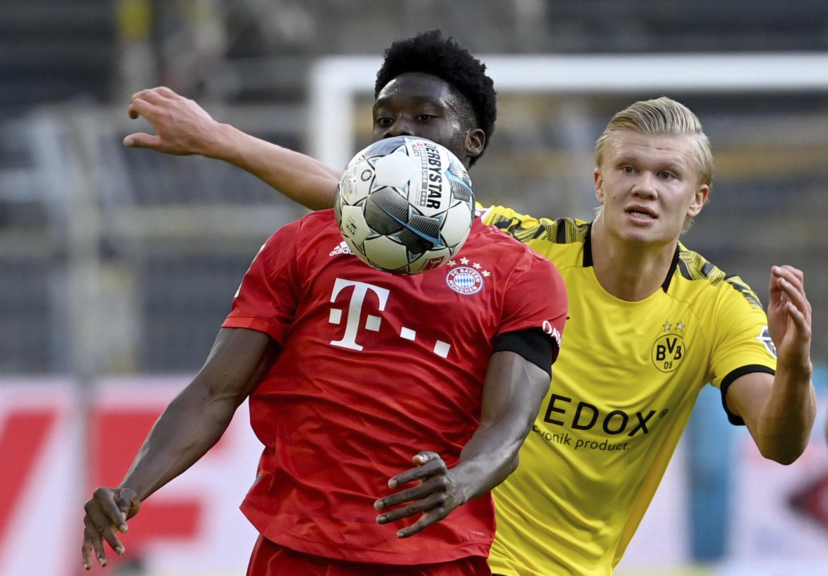 'Bayern Road Runner' Alphonso Davies shines against Dortmund