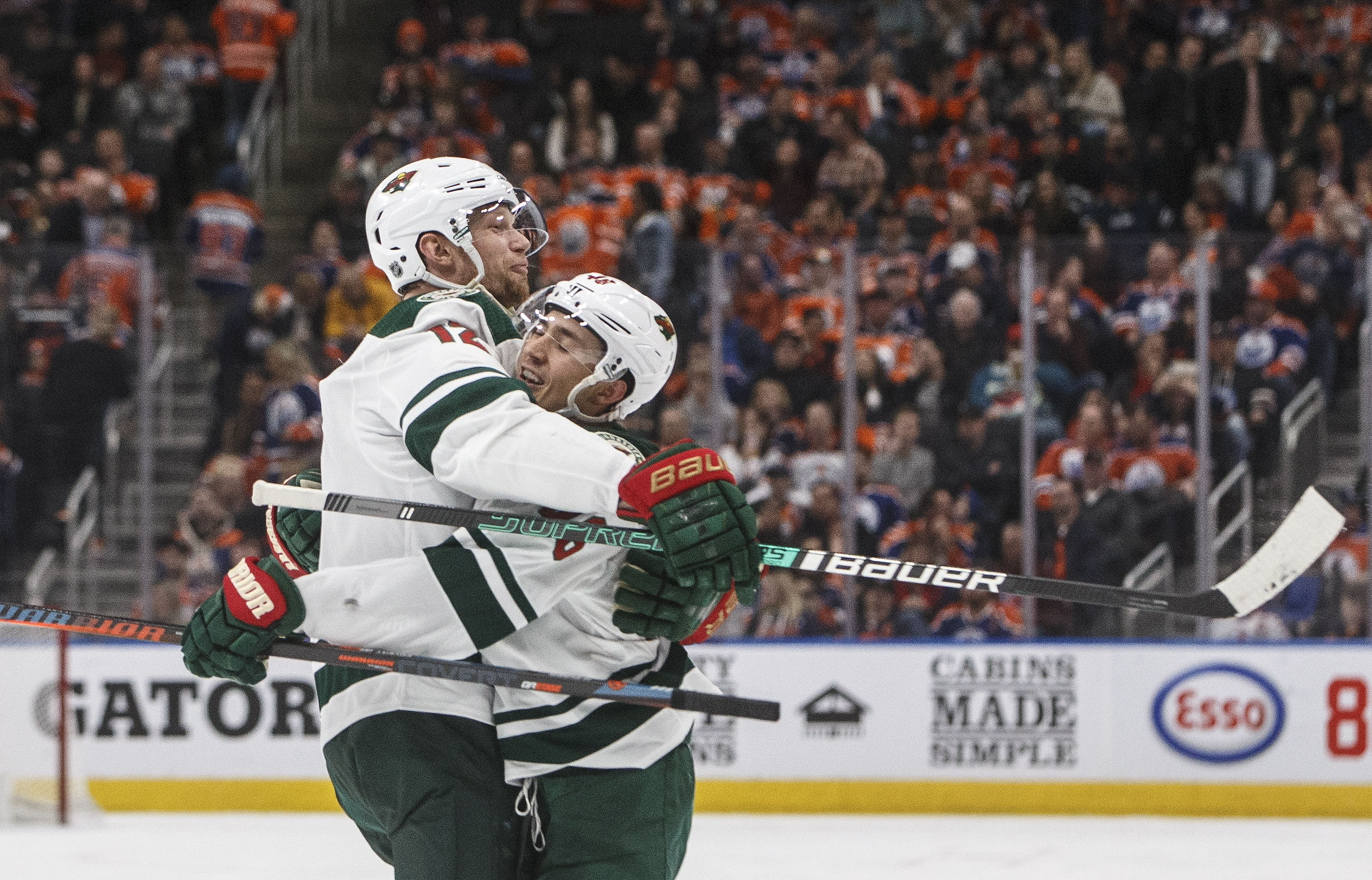 Spurgeon's hat trick leads Wild past Oilers 5-3