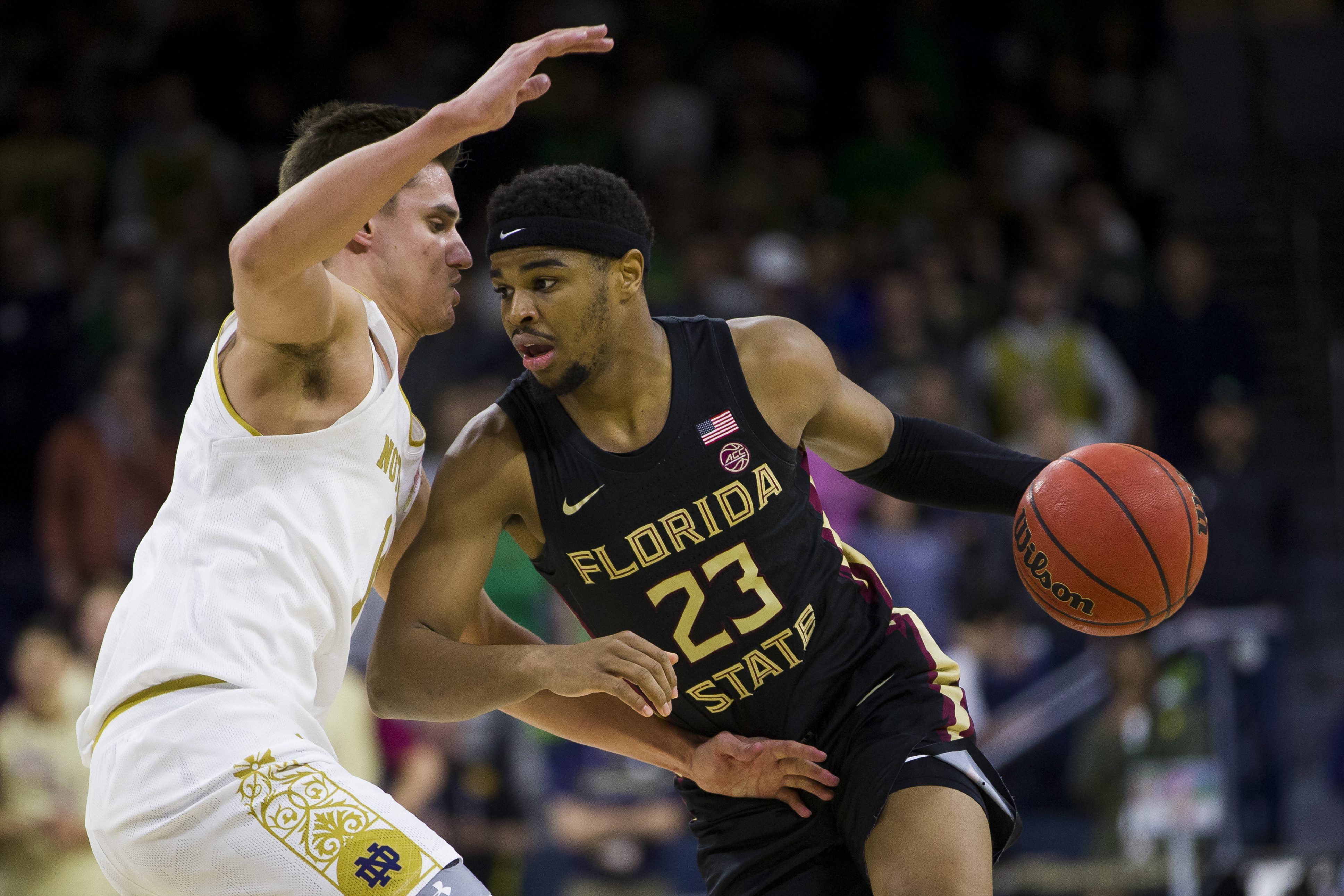 No. 7 Florida State rallies to beat Notre Dame 73-71