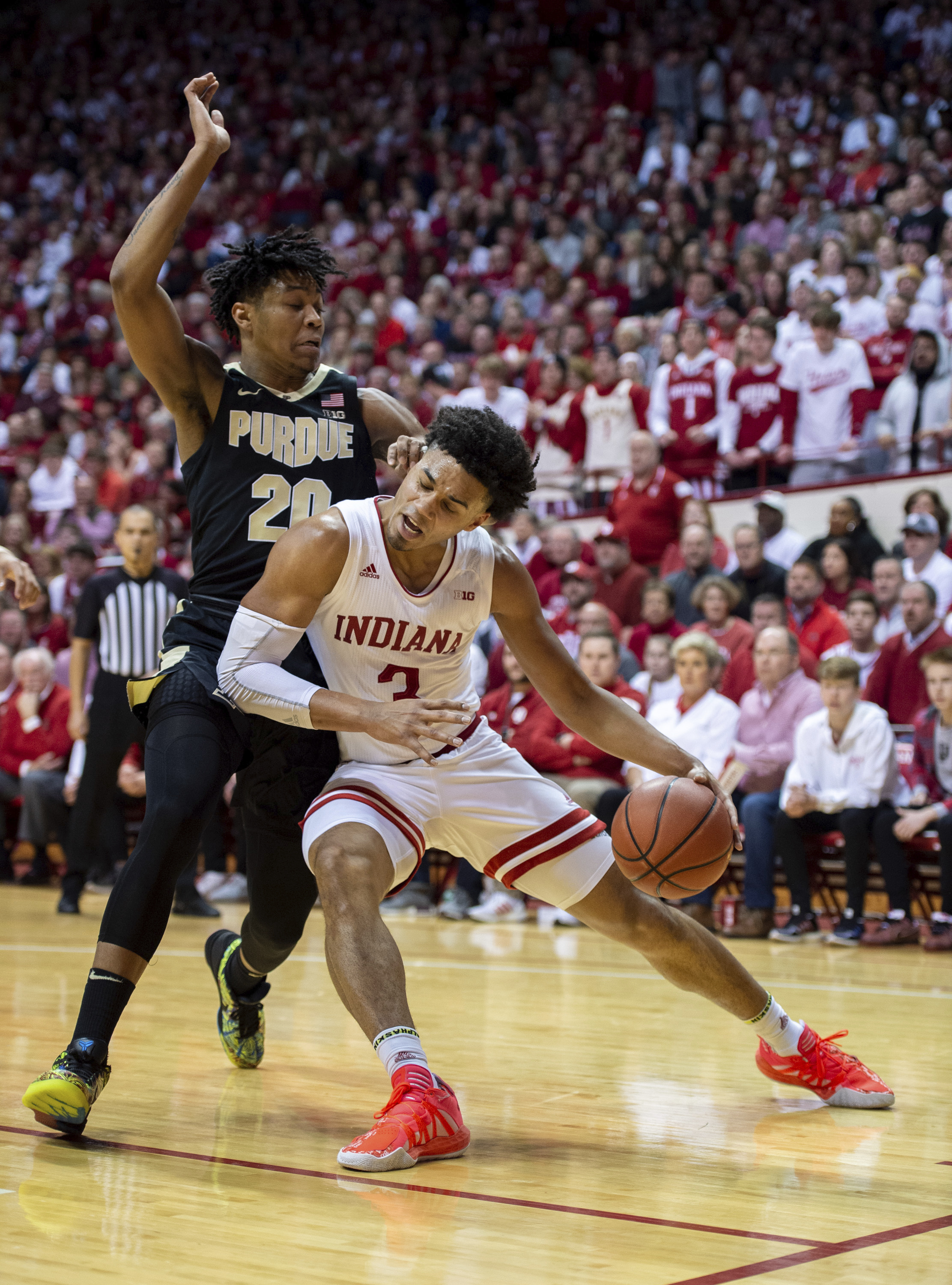 Boilermakers deliver winning road show at Indiana, 74-62