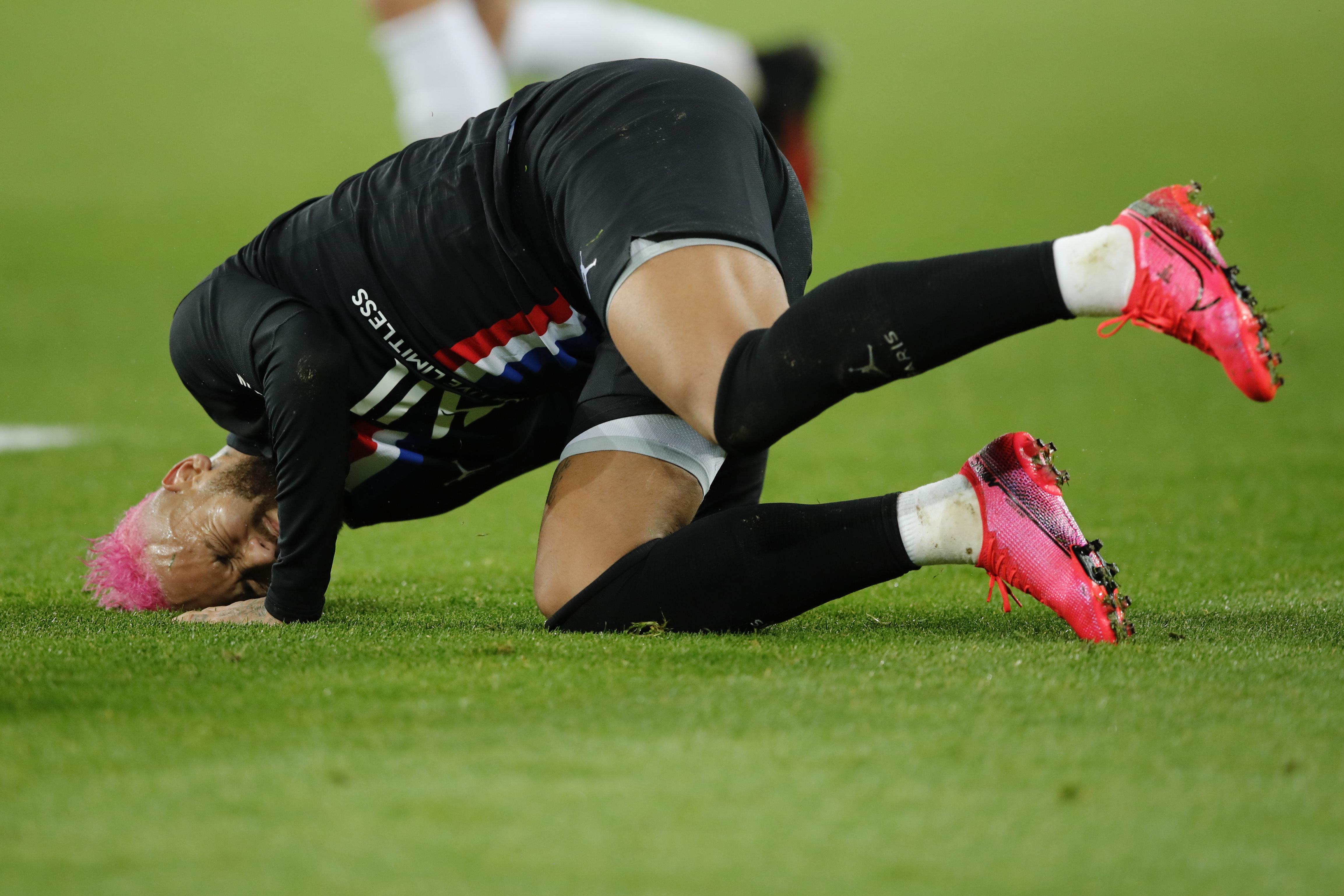 Neymar injury conceals a bigger concern: PSG's defense