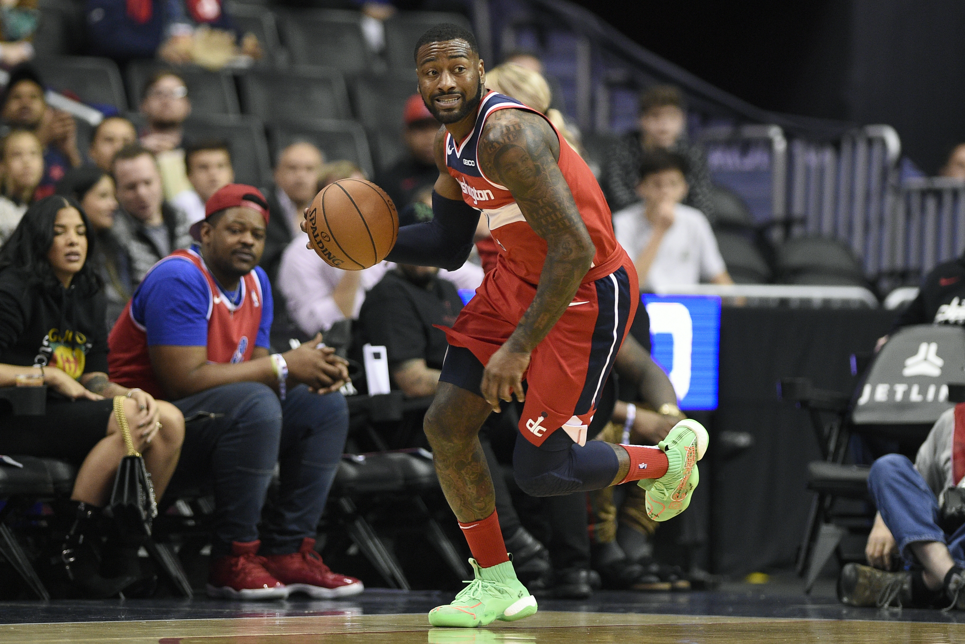 Wizards' John Wall says he's '110%' and 'itching' to return