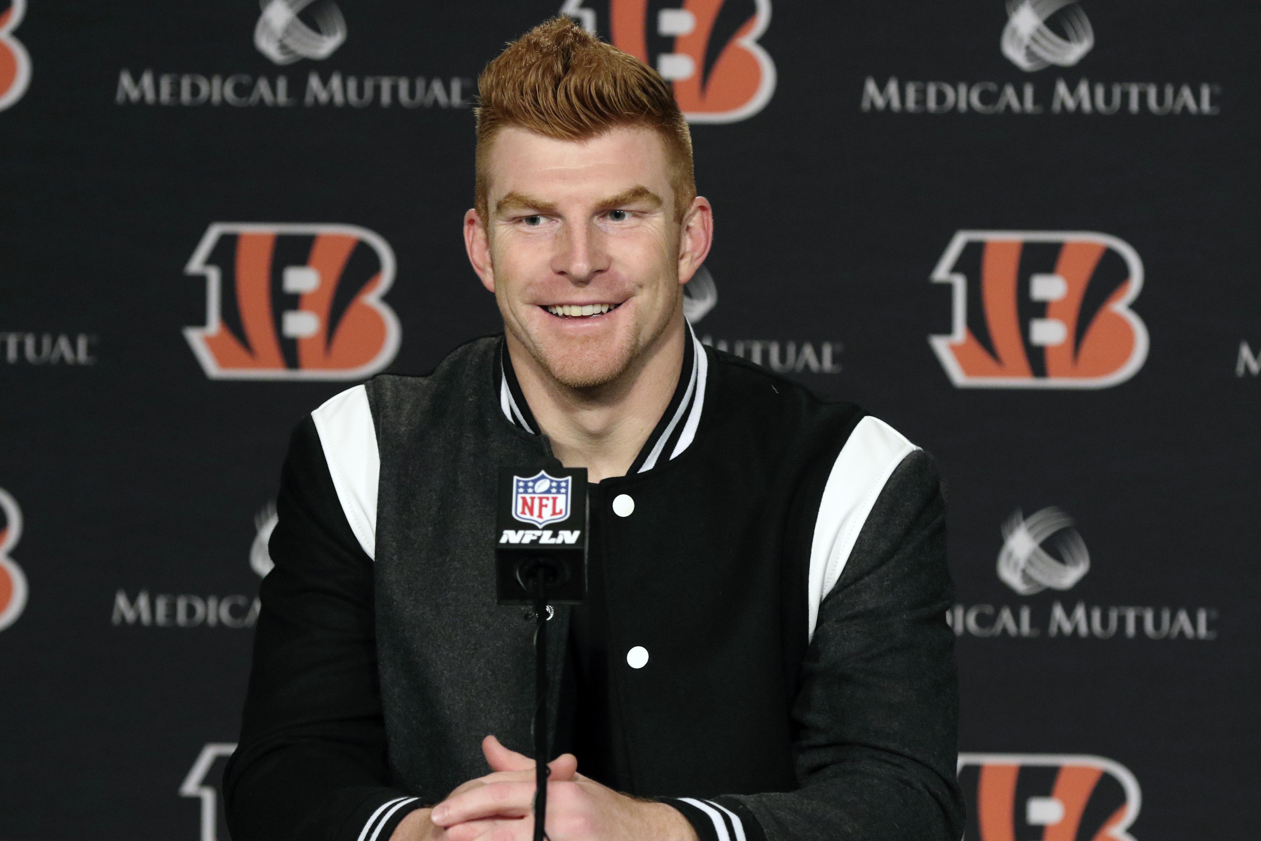 Cowboys sign Dalton, waive incumbent backup QB Cooper Rush