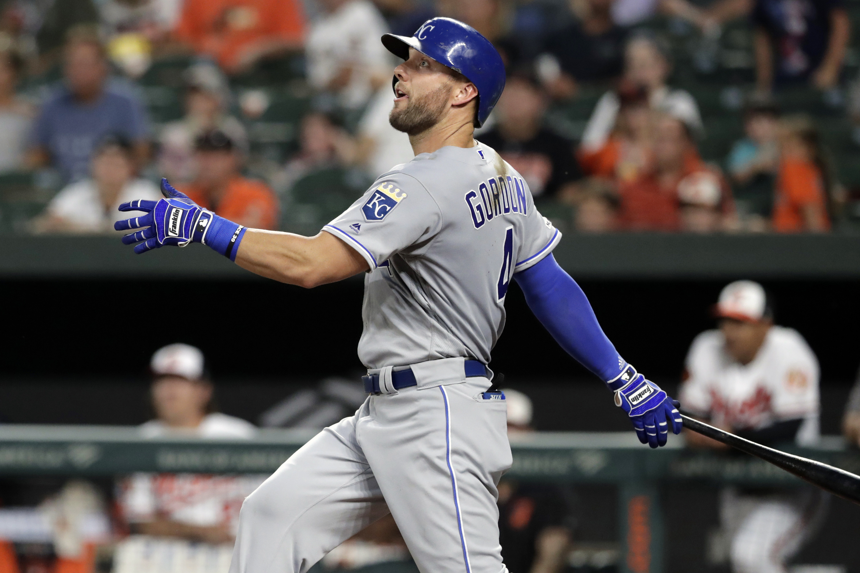 Royals' Alex Gordon agrees to accept trades starting June 16