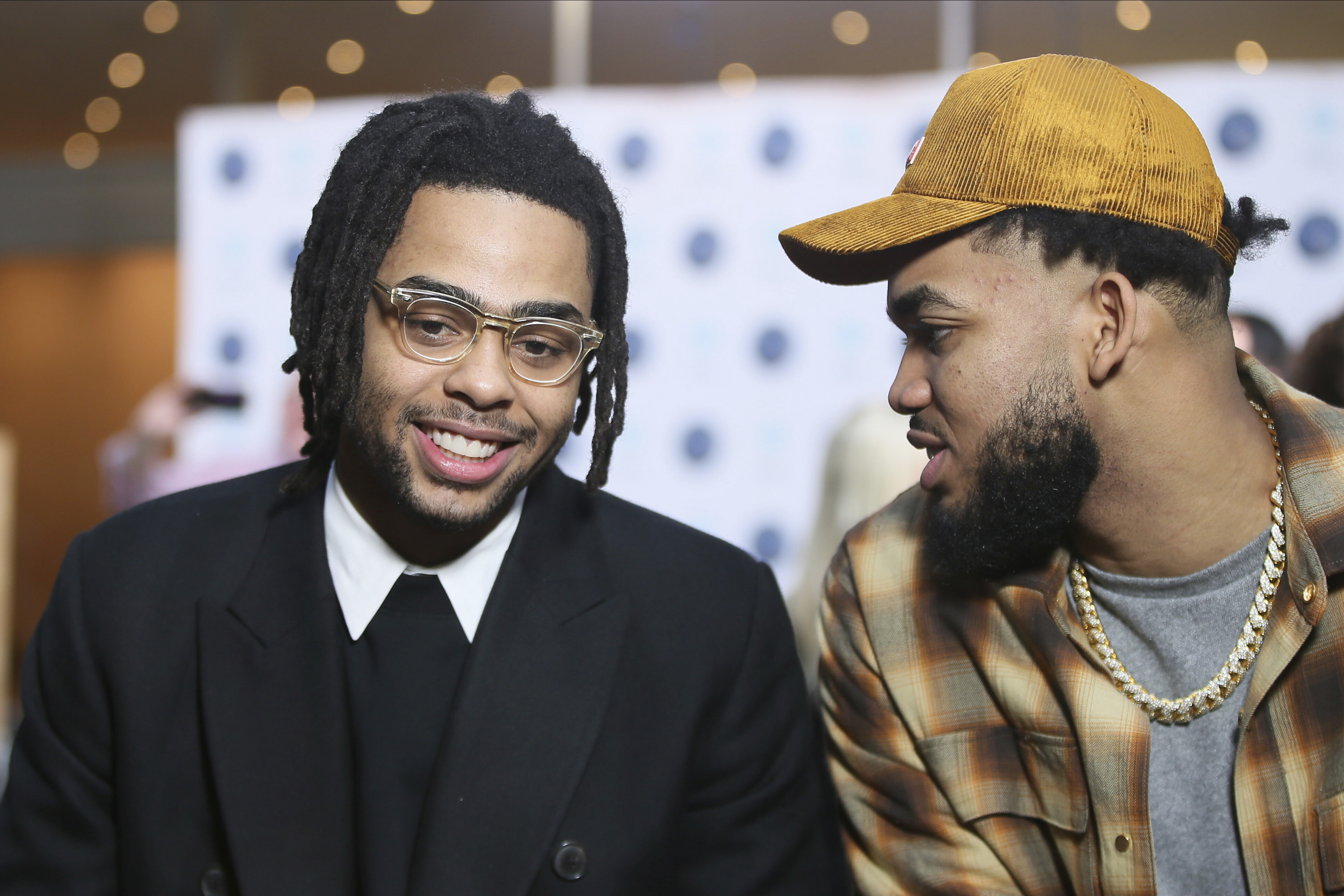 Russell, T-wolves 'feel the love' in star pairing with Towns