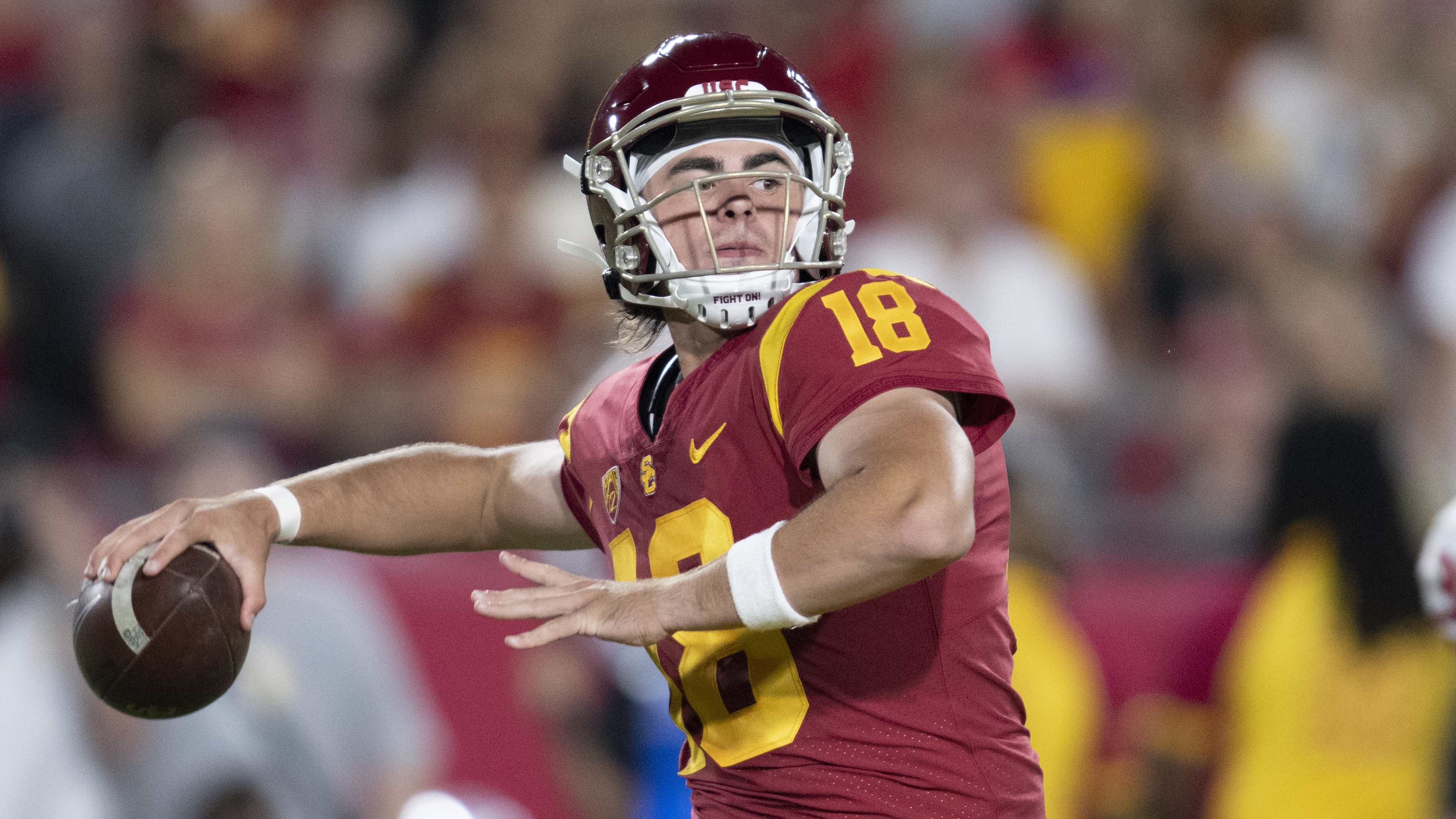USC QB Daniels enters transfer portal; lost job to Slovis