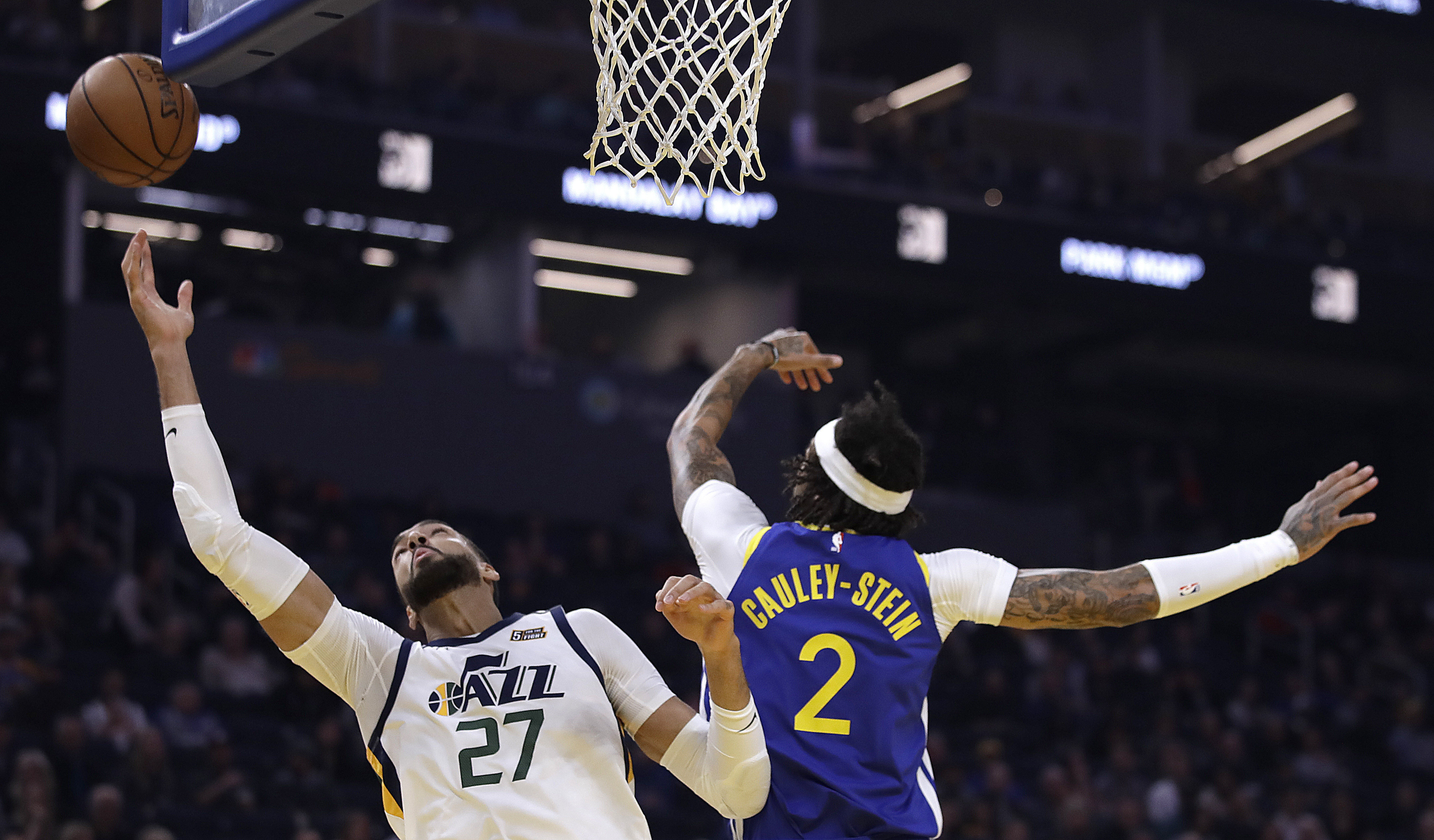 AP sources: Mavs set to acquire Cauley-Stein from Warriors