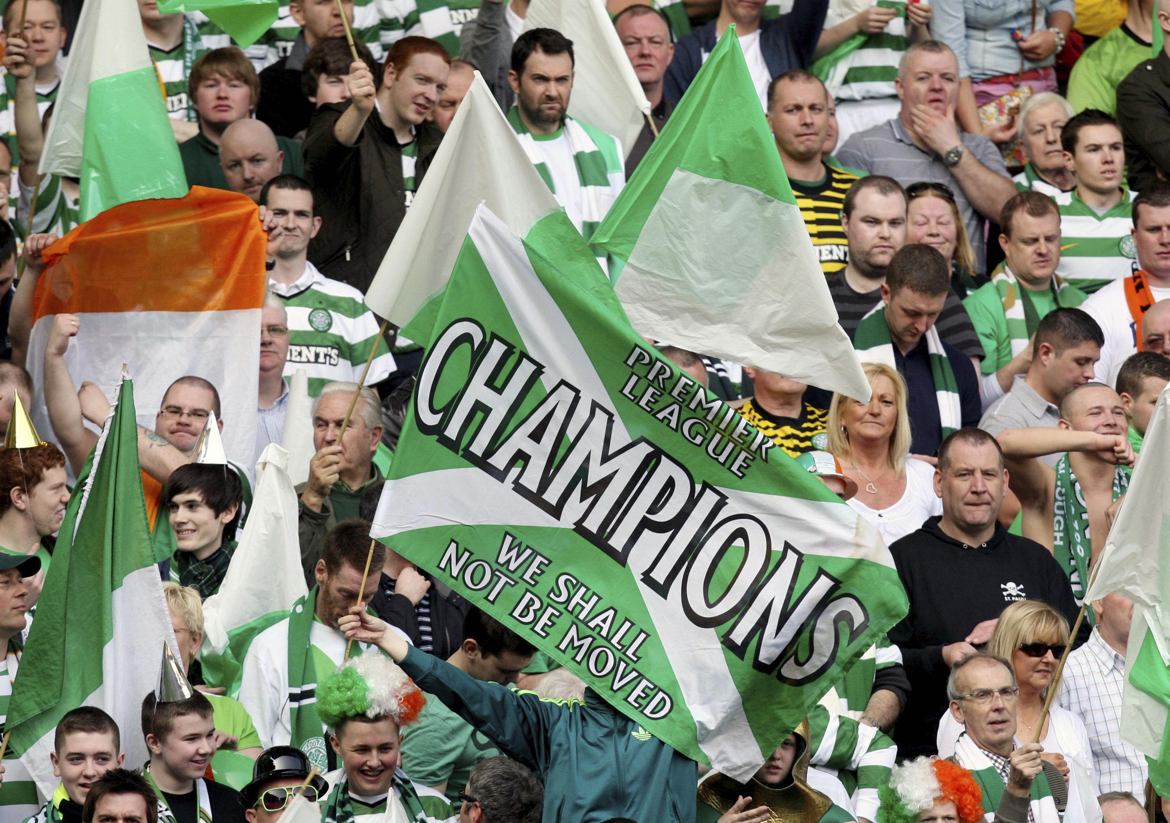 Celtic champion again after Scottish league cut short