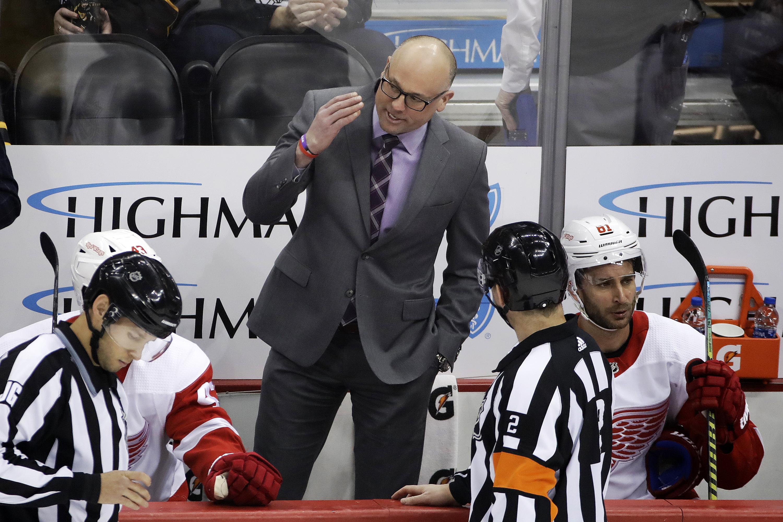 Steve Yzerman says Red Wings coach Jeff Blashill keeping job