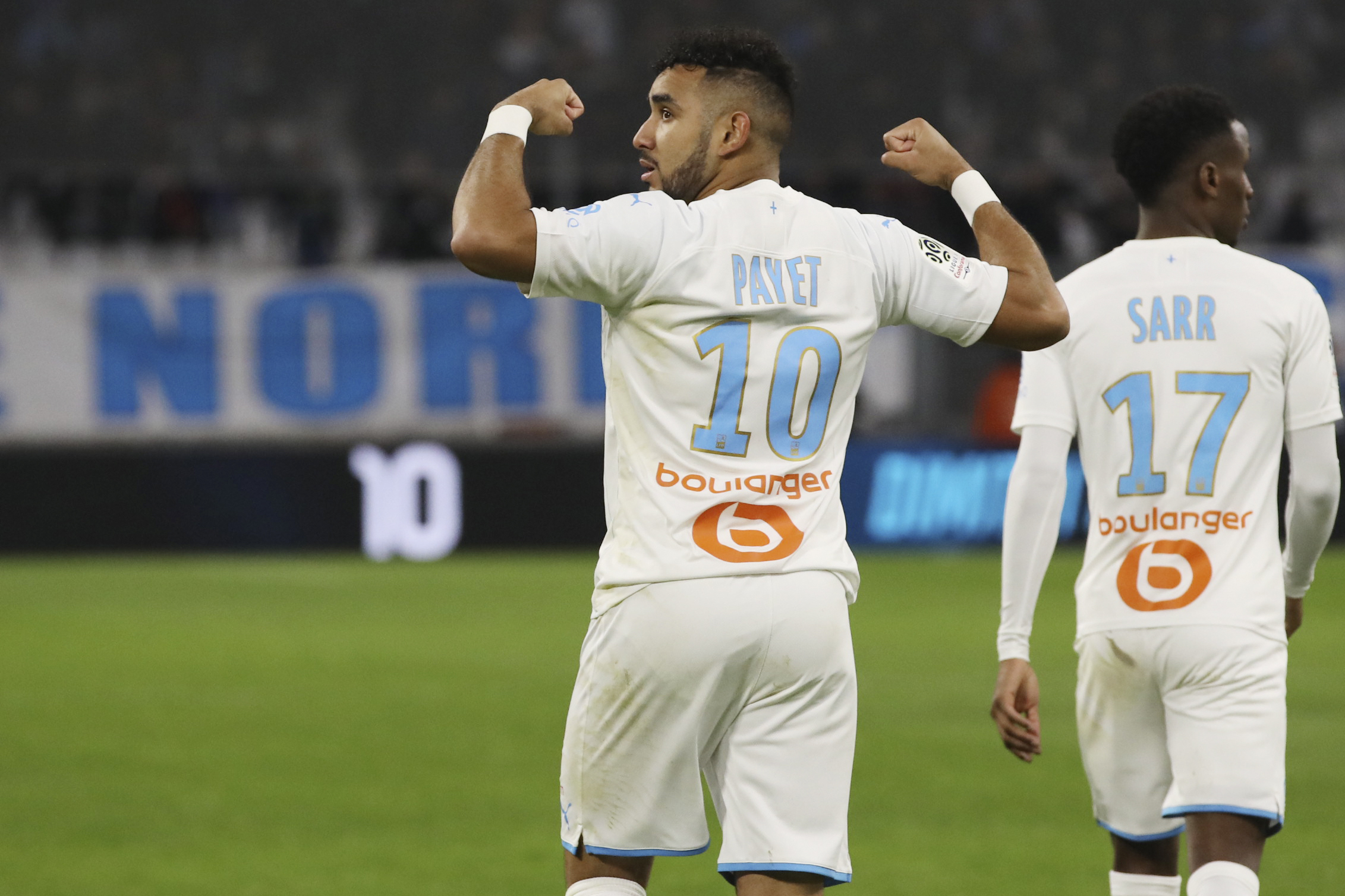 Payet scores as 2nd-place Marseille moves clear of Rennes