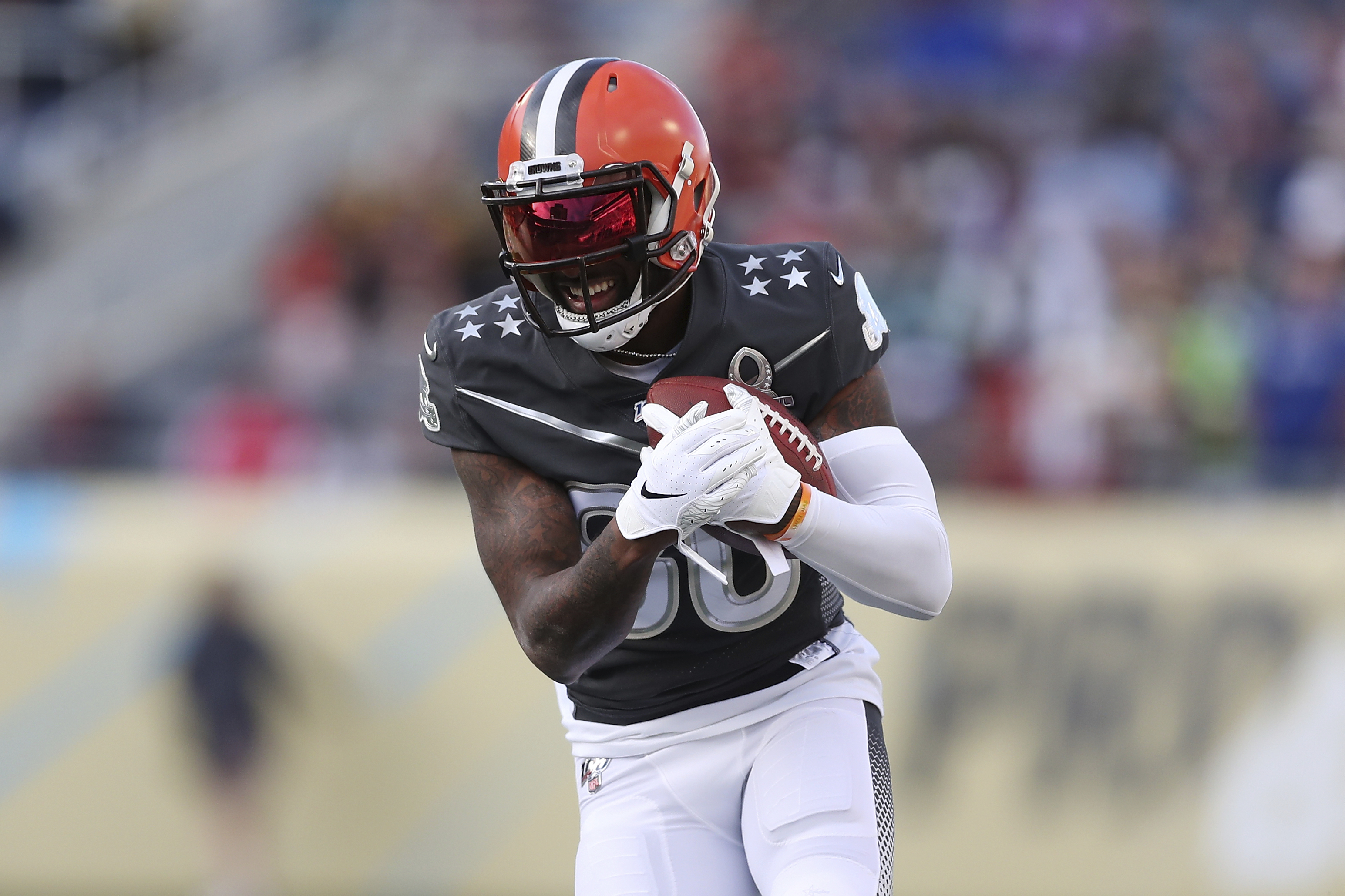 Browns' Landry ahead of schedule in rehab from hip surgery