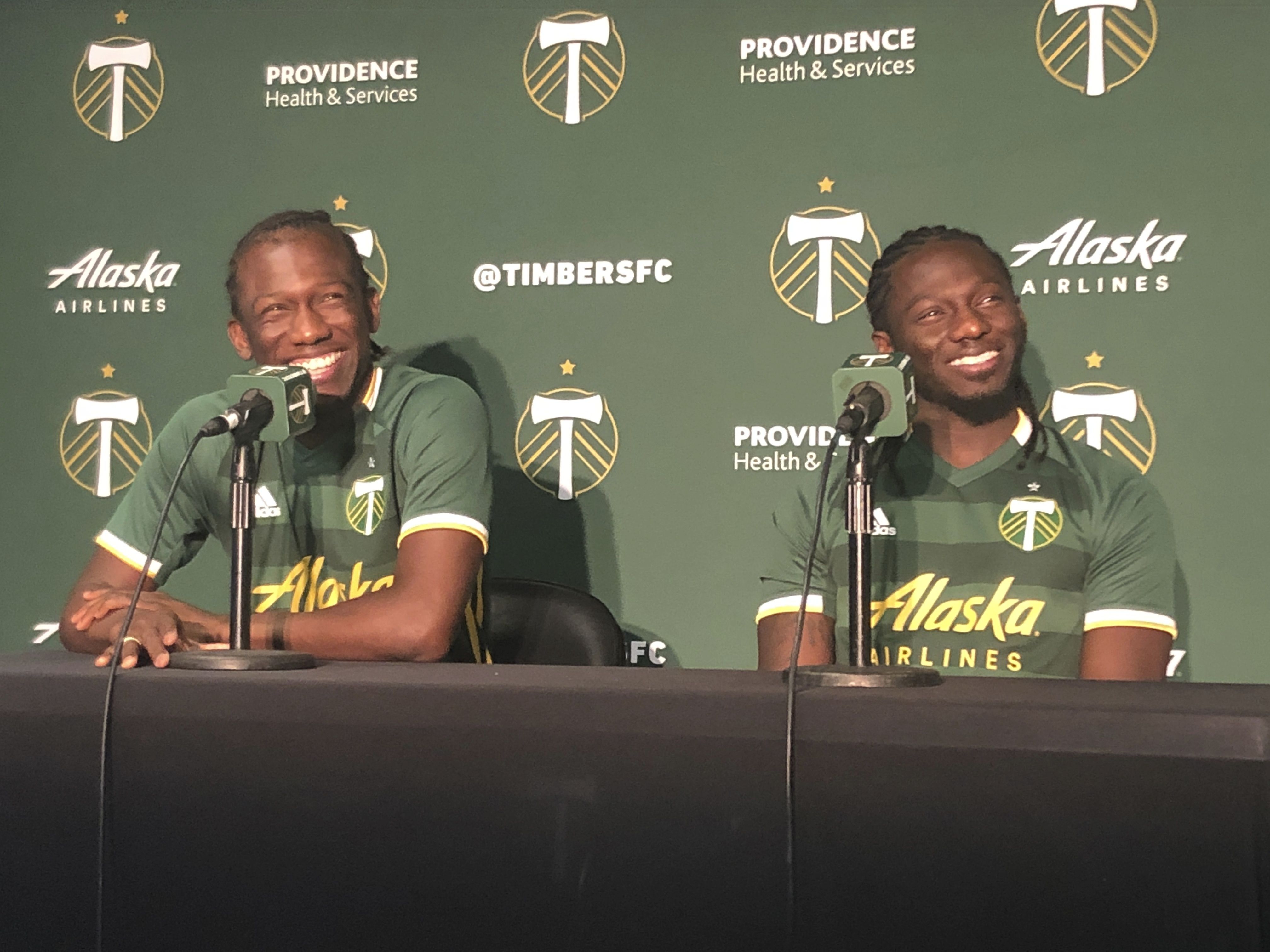 Together at last: Timbers reunite the Chara brothers