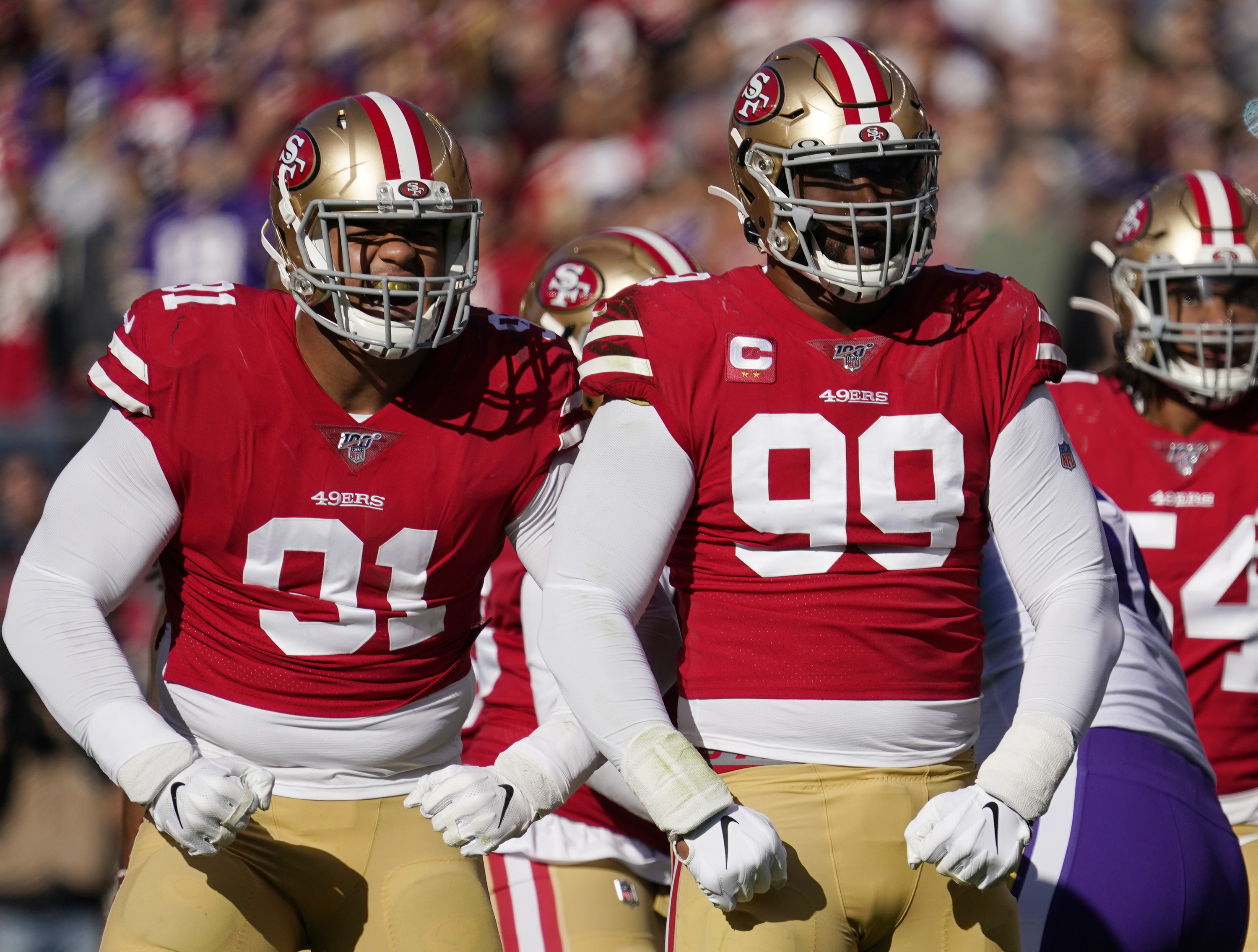 49ers lock up Armstead, plan deal for Buckner