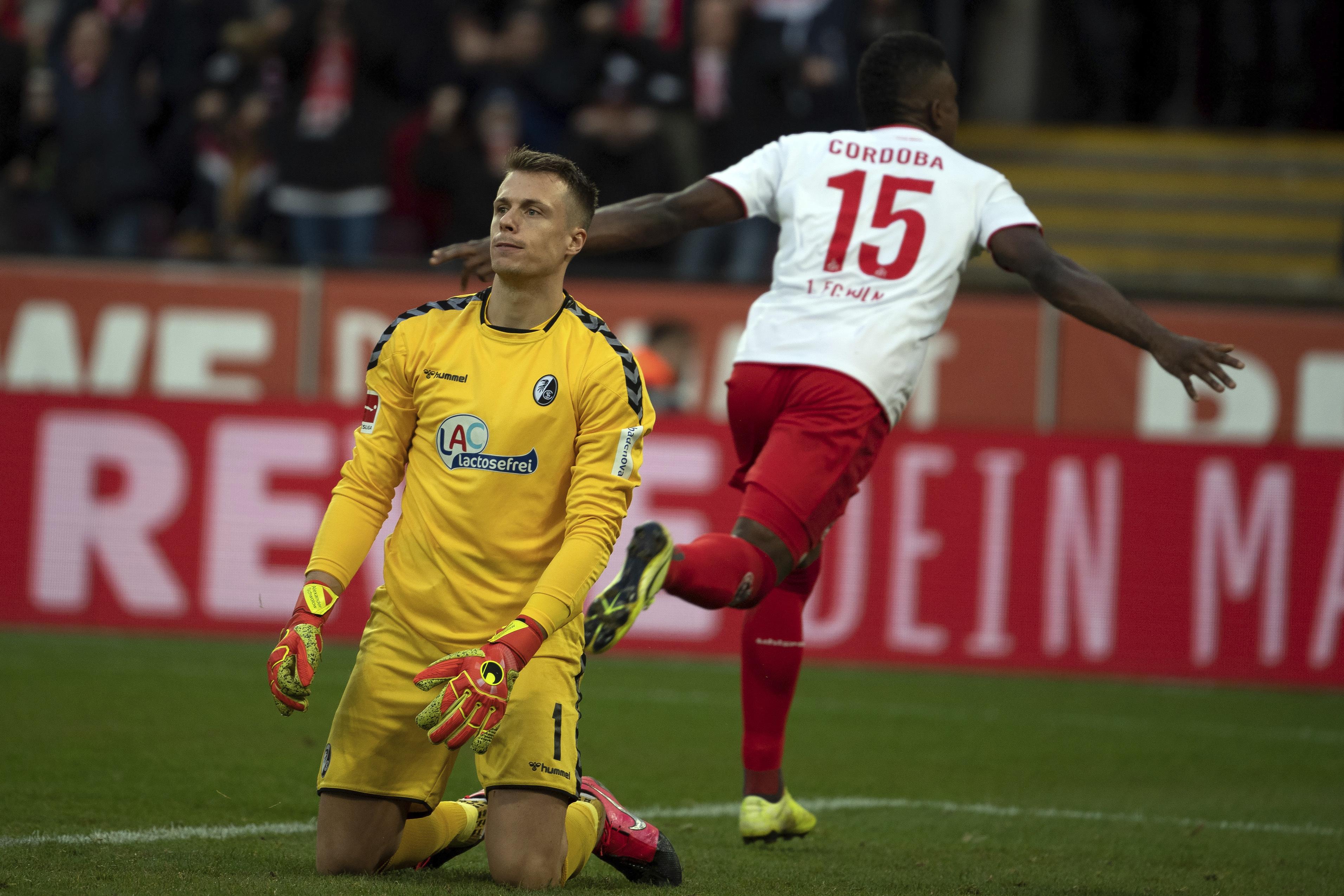 Freiburg's Bundesliga slump continues in 4-0 loss at Cologne